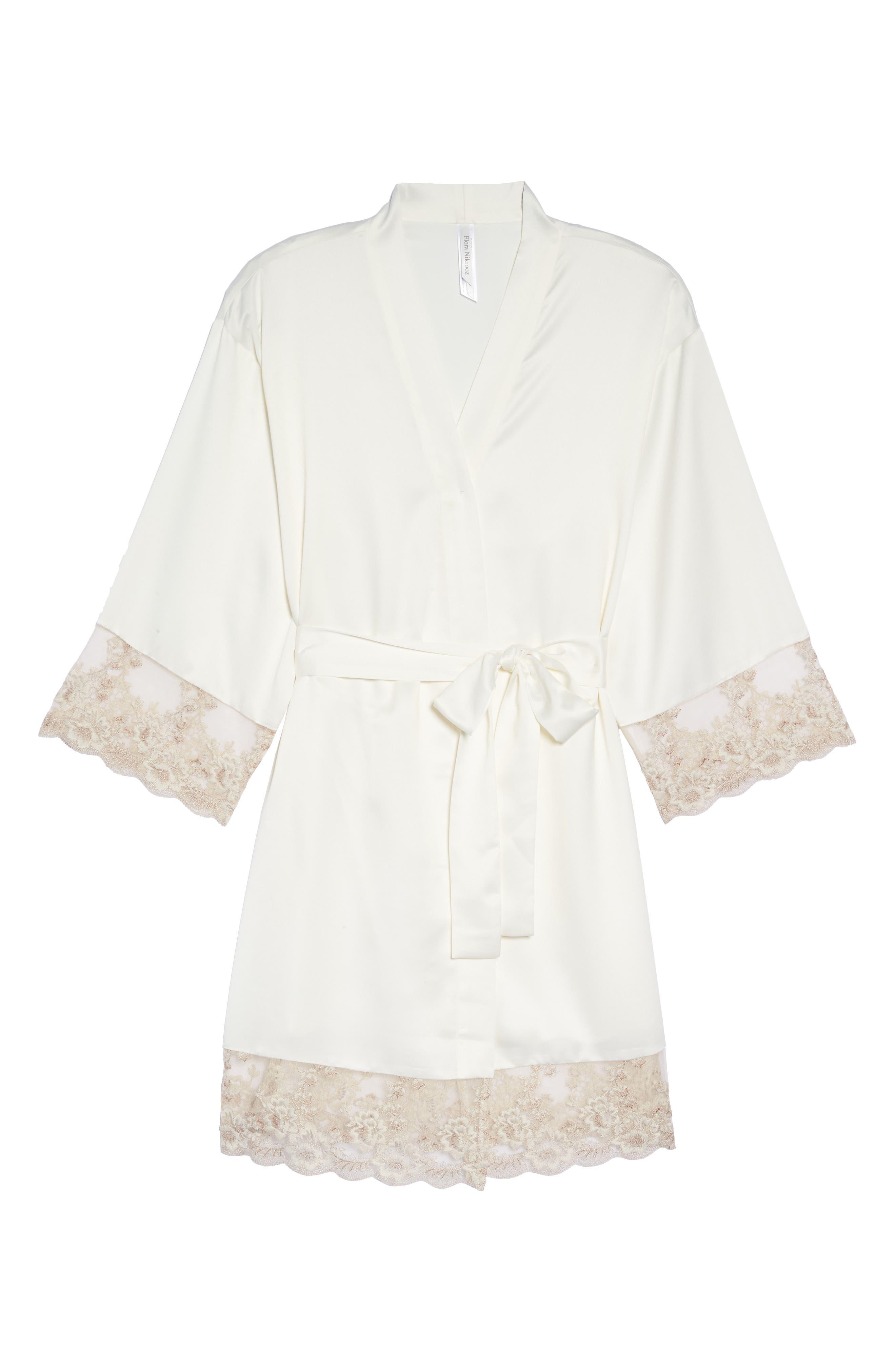 Rosa Kimono Robe,                             Alternate thumbnail 6, color,
