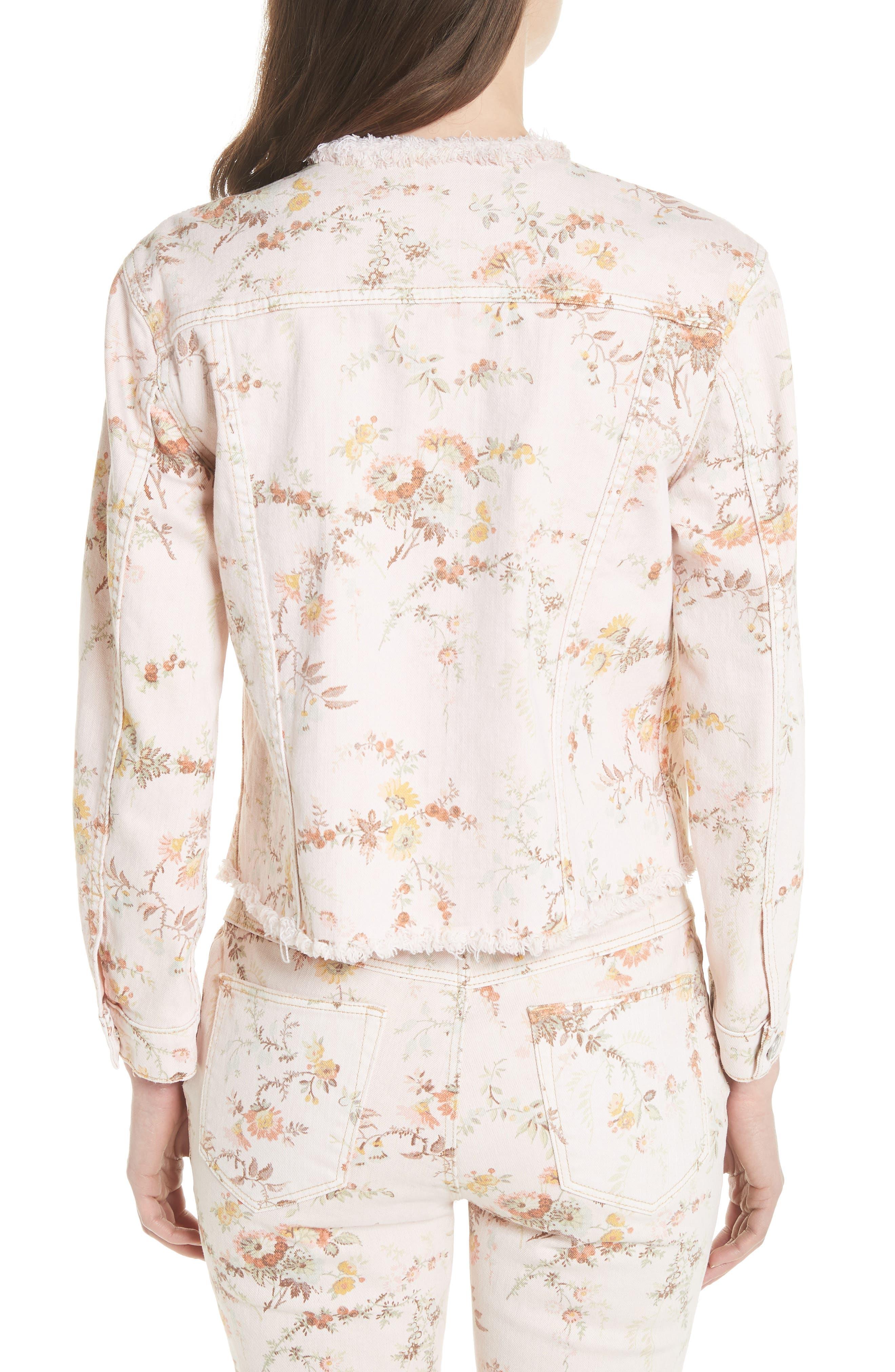 Belle Denim Jacket,                             Alternate thumbnail 2, color,                             903