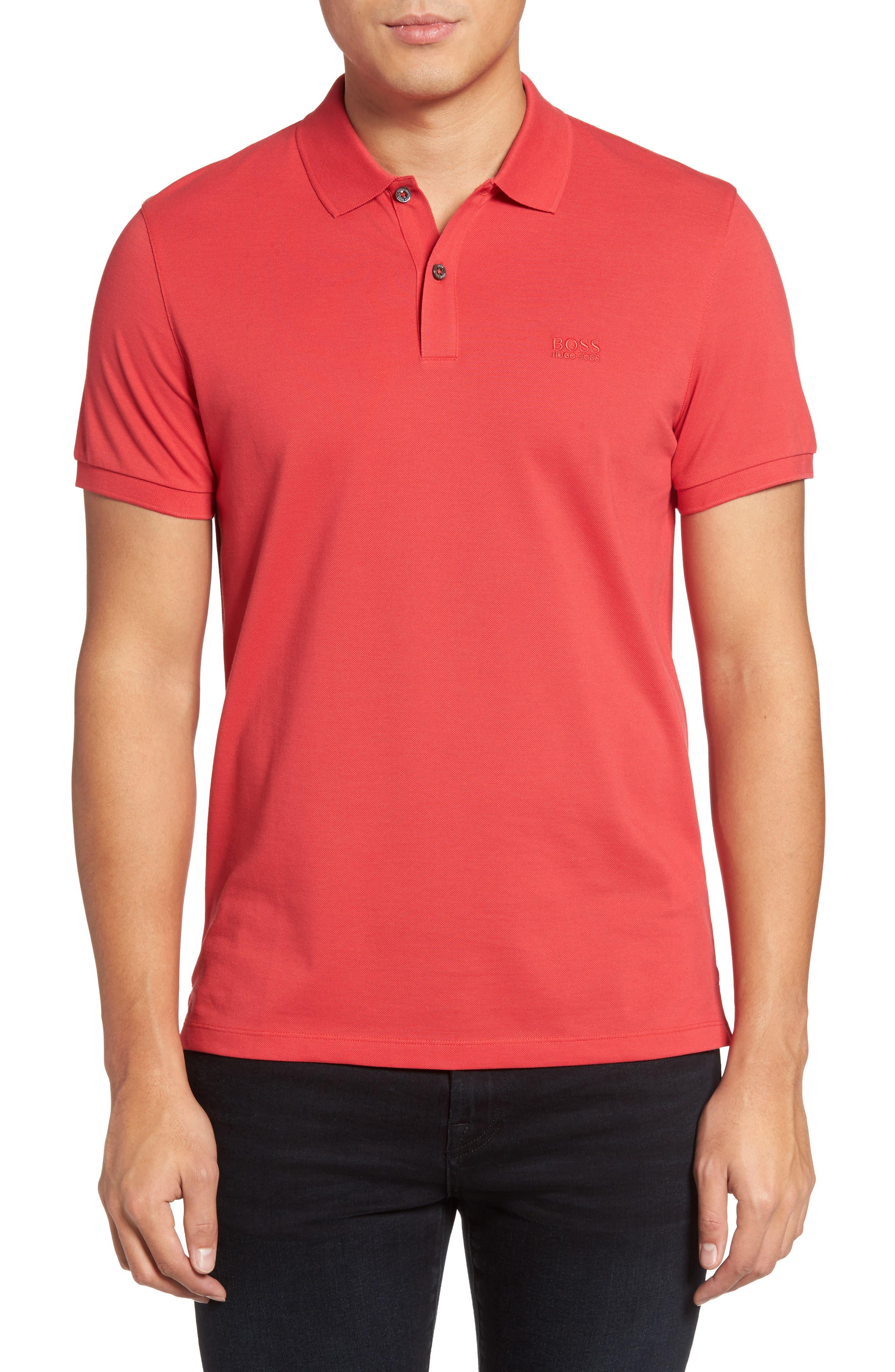 'Pallas' Regular Fit Logo Embroidered Polo Shirt,                             Main thumbnail 15, color,