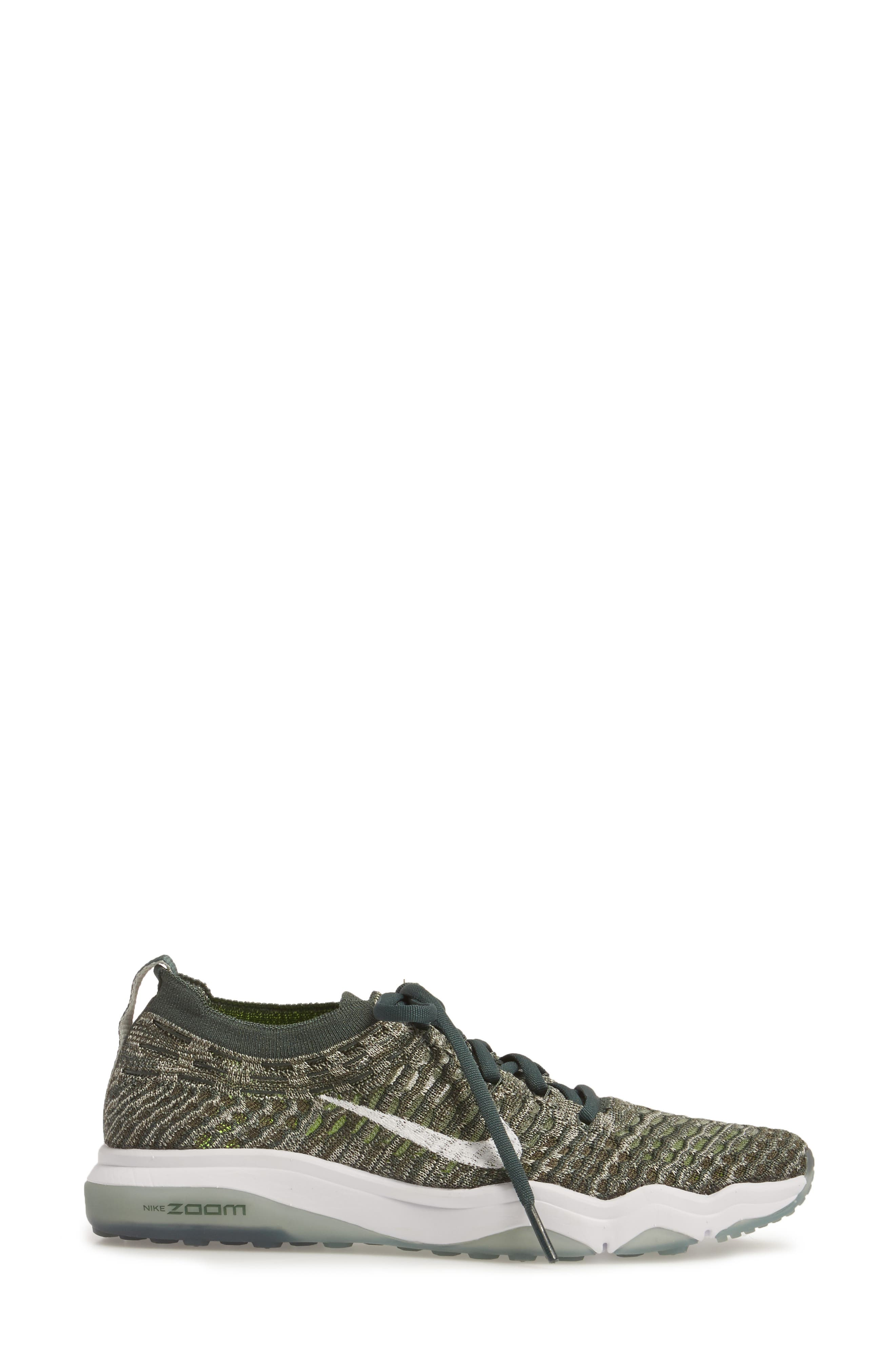 Air Zoom Fearless Flyknit Training Shoe,                             Alternate thumbnail 25, color,