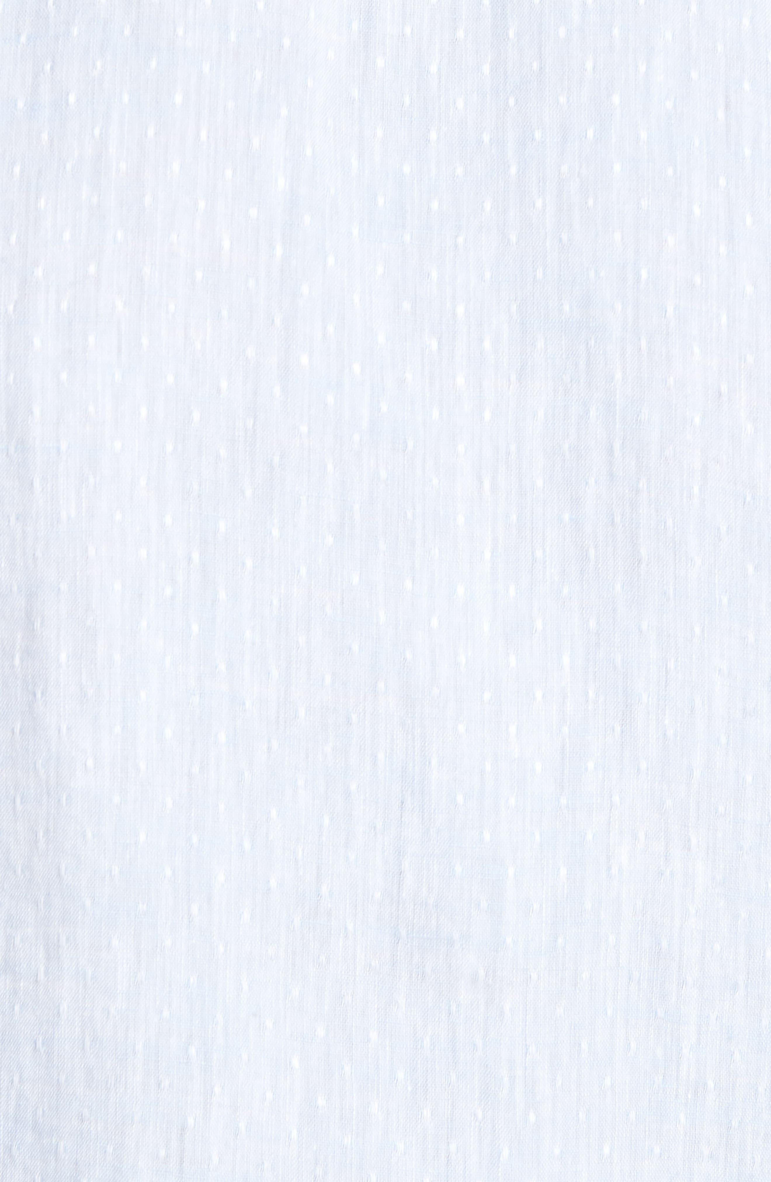 Ronni Slim Fit Dobby Linen Sport Shirt,                             Alternate thumbnail 10, color,