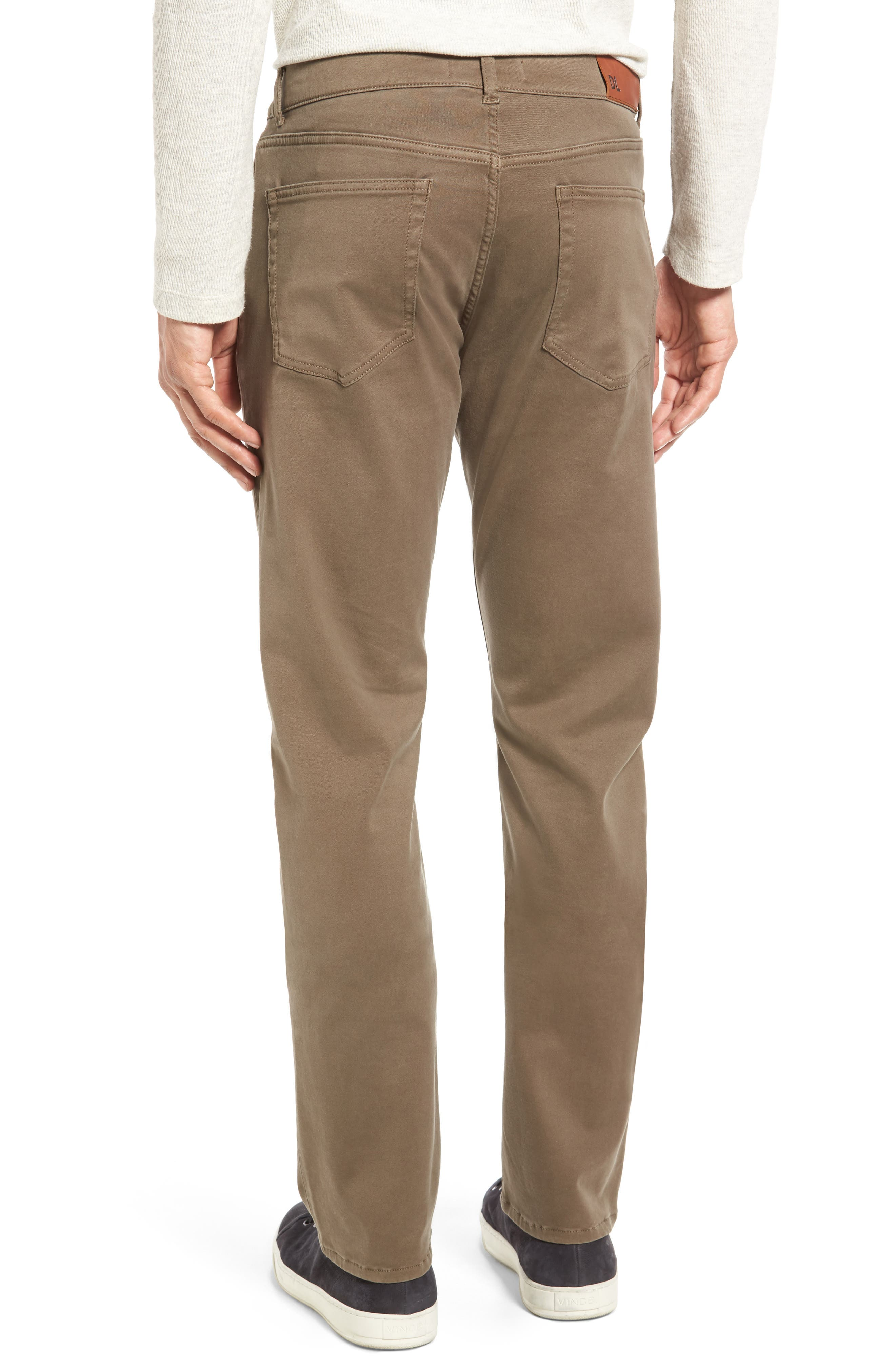 Russell Slim Fit Sateen Twill Pants,                             Alternate thumbnail 16, color,