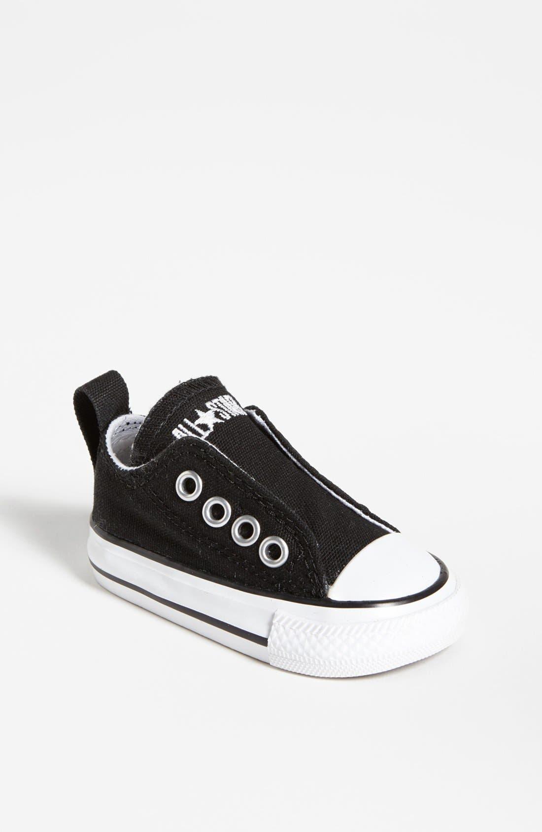 Infant Converse Chuck Taylor All Star Simple SlipOn Size 3 M  Black