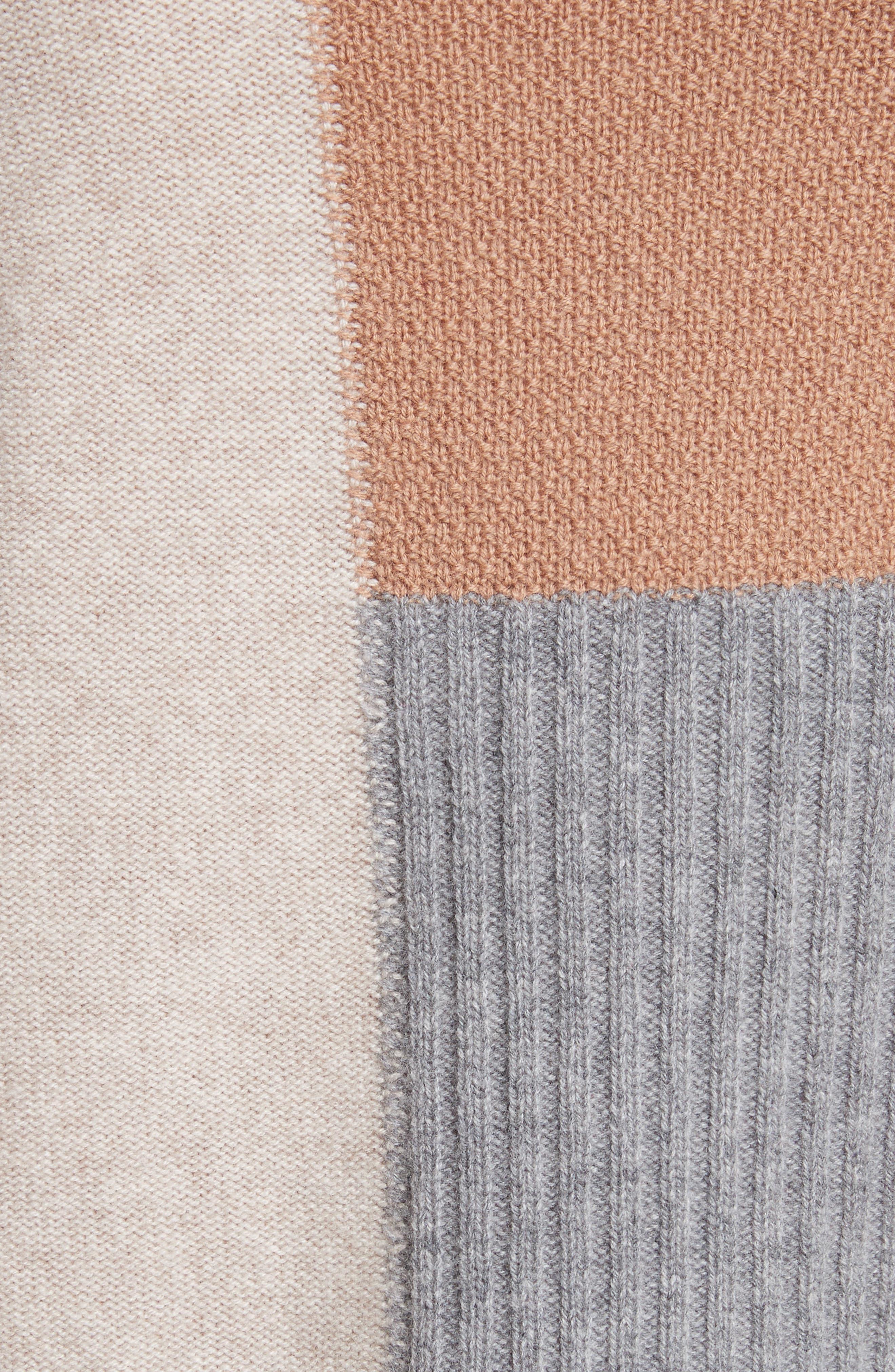 Adene Wool & Cashmere Sweater,                             Alternate thumbnail 5, color,                             641