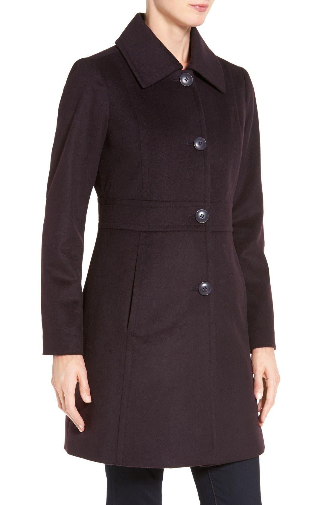 Wool Blend Walking Coat,                             Alternate thumbnail 16, color,