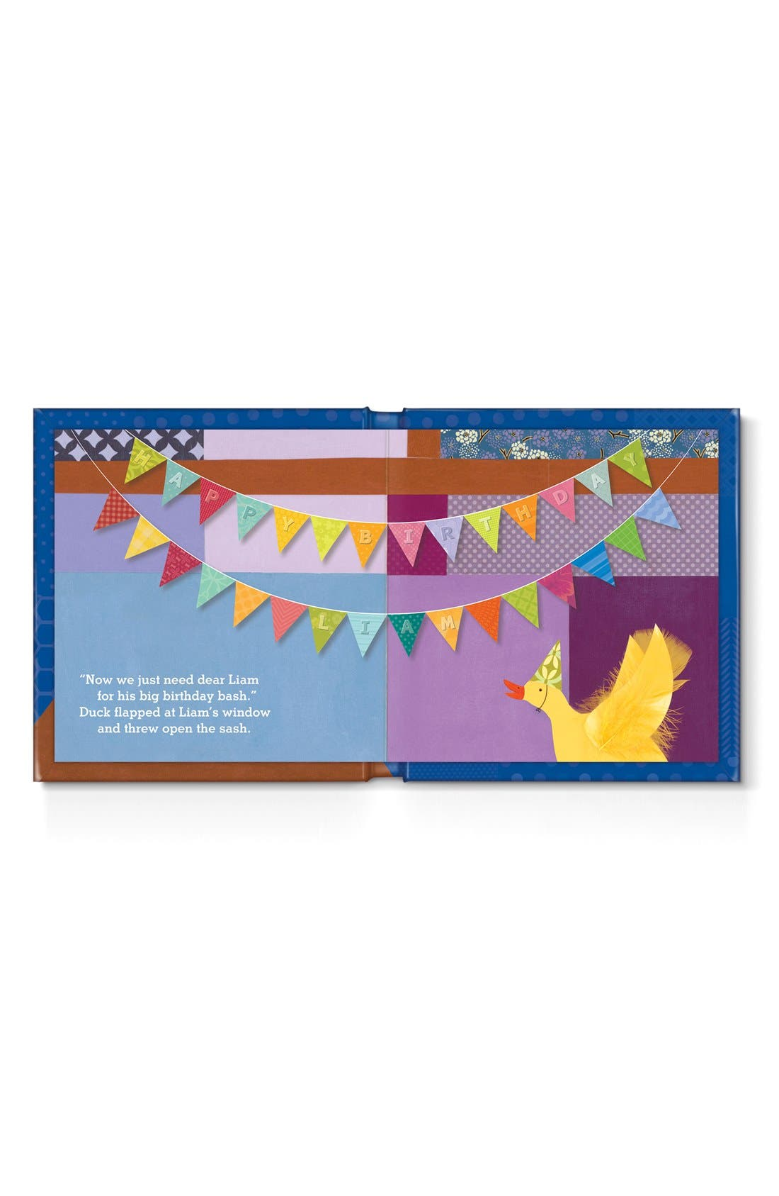 'My Very Happy Birthday' Personalized Book,                             Alternate thumbnail 5, color,                             BLUE