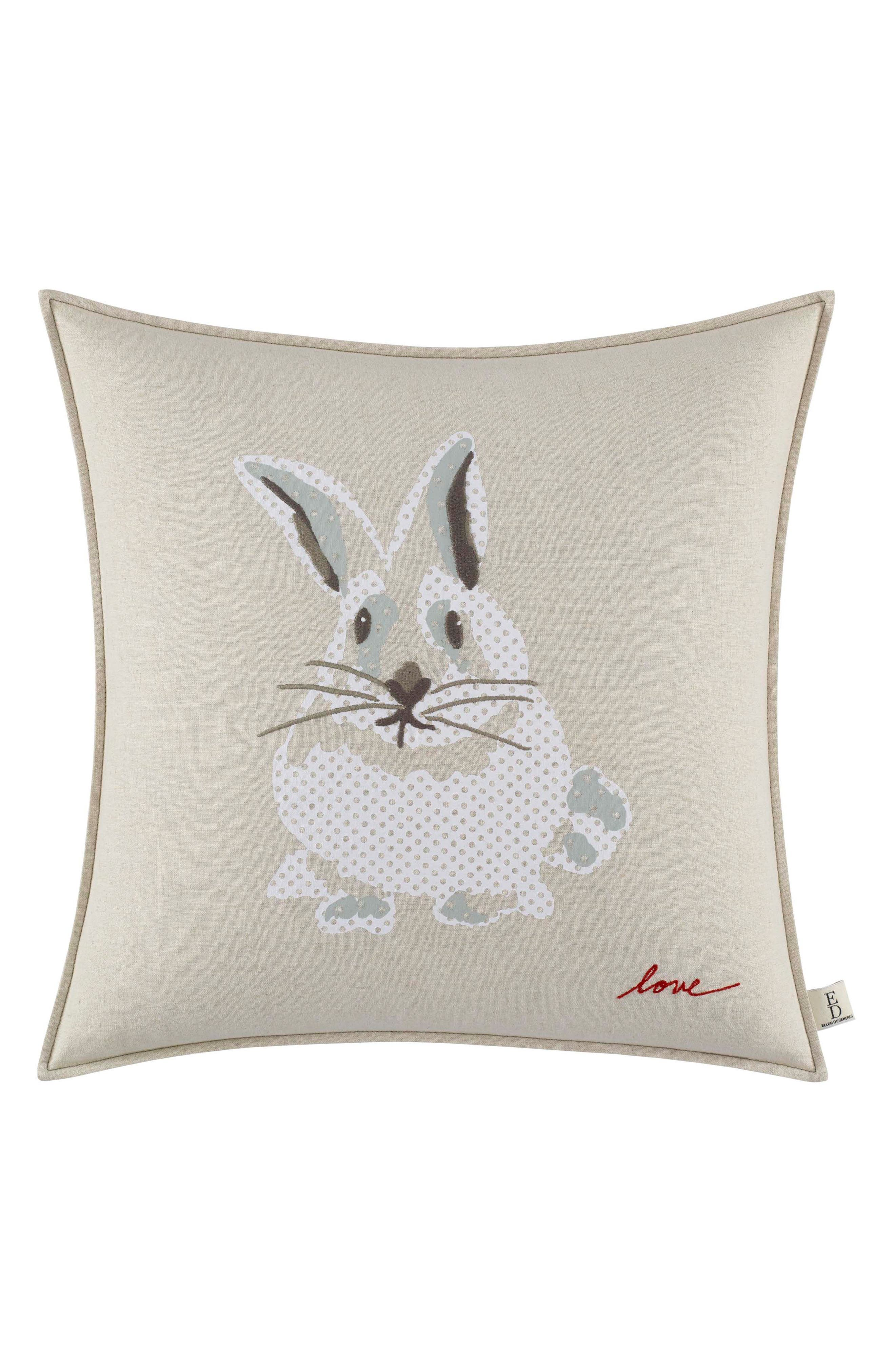 Bunny Pillow,                             Main thumbnail 1, color,                             BEIGE