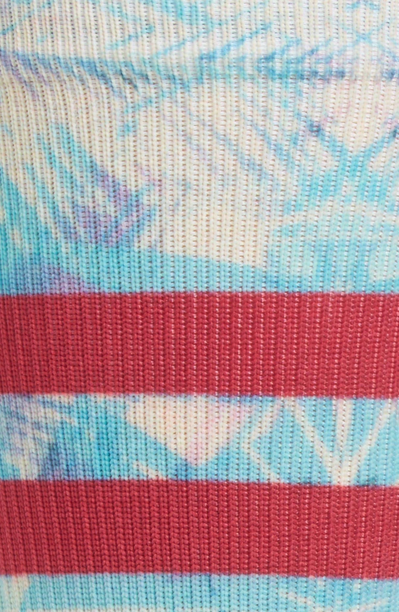 Ultraviolet Atheltic Crew Socks,                             Alternate thumbnail 2, color,                             420