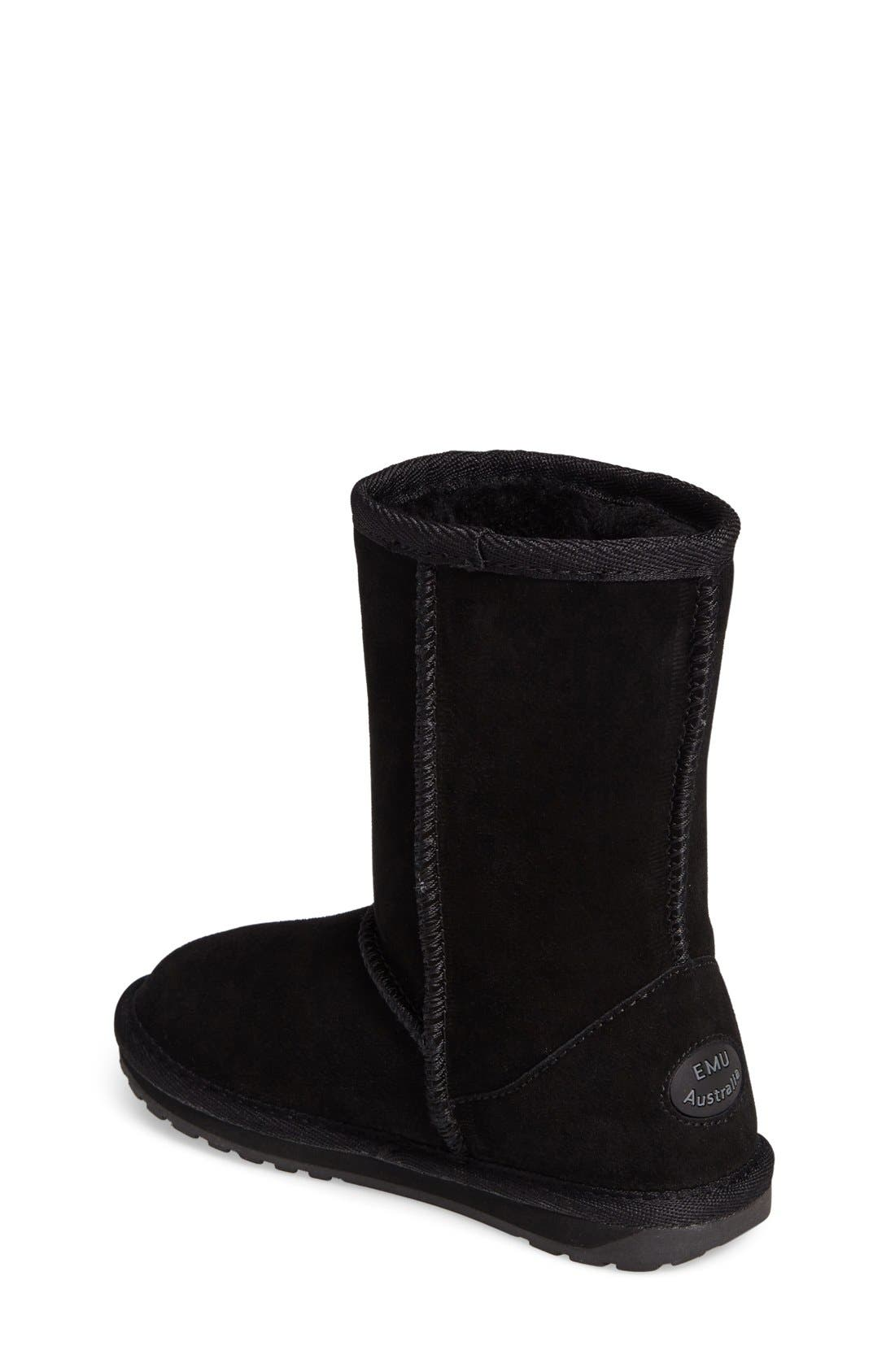 Wallaby Lo Boot,                             Alternate thumbnail 8, color,                             BLACK