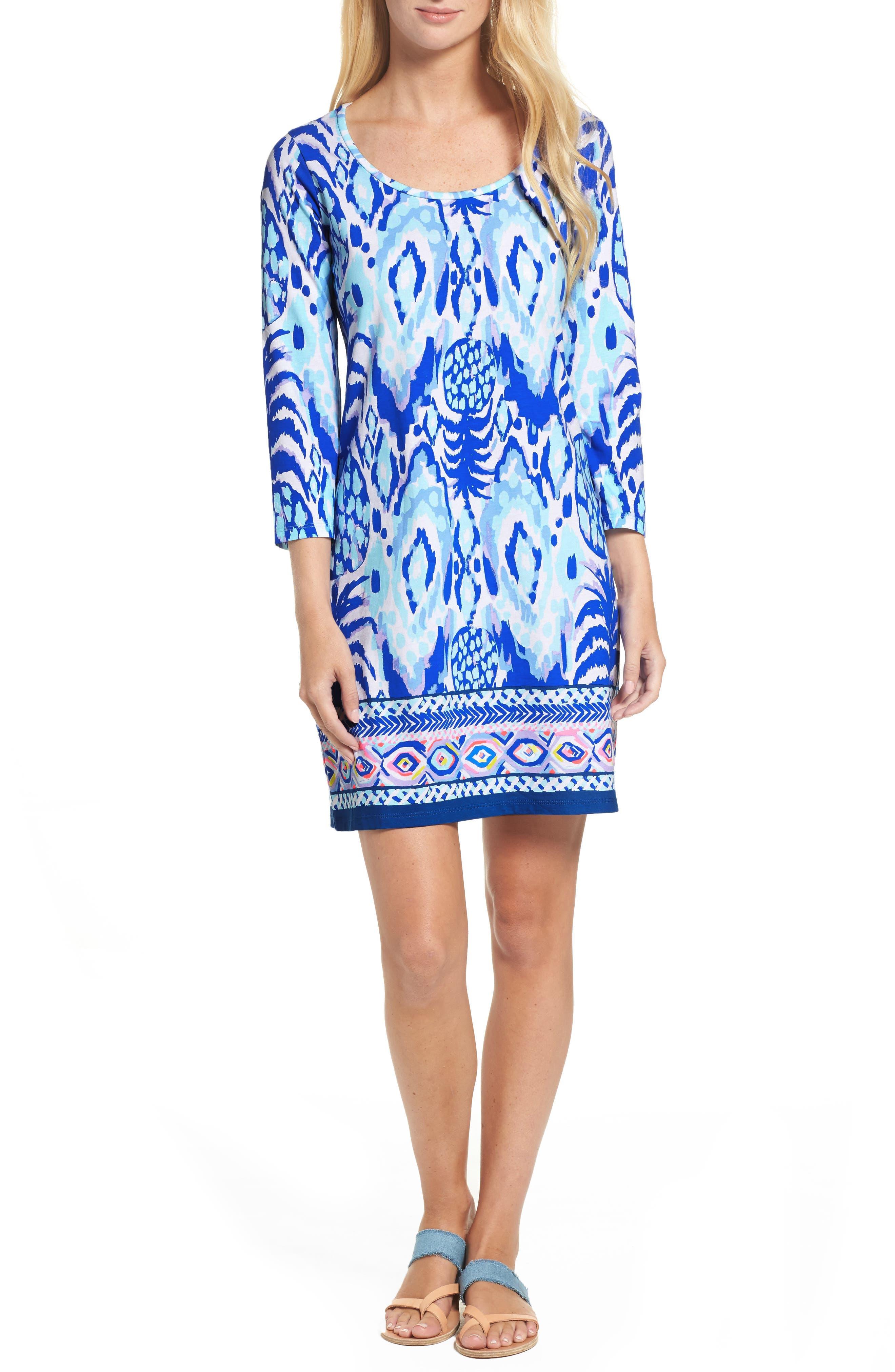 Beacon Shift Dress,                         Main,                         color, 460