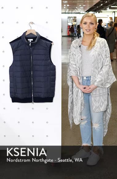 Crown Elite Channel Quilted Hybrid Vest, sales video thumbnail