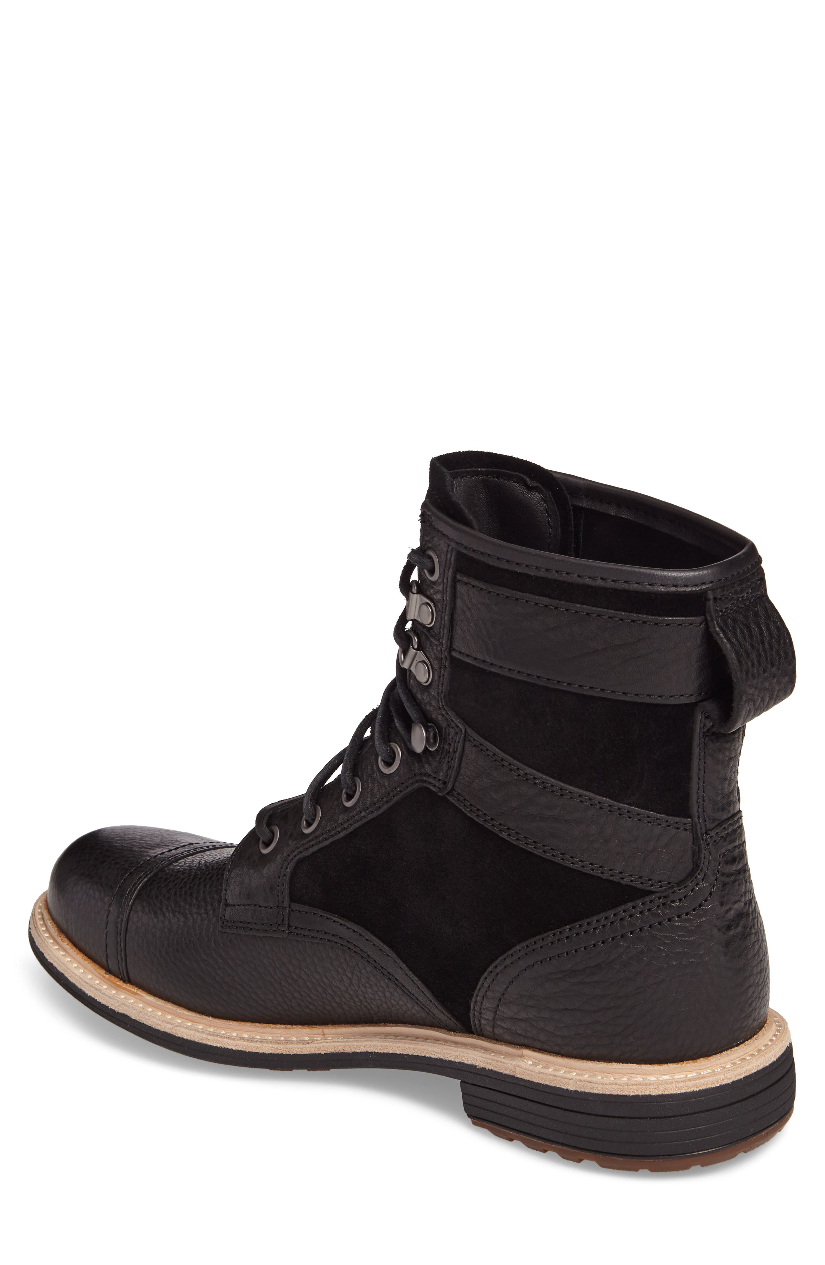 UGG<SUP>®</SUP>,                             Magnusson Cap Toe Boot,                             Alternate thumbnail 2, color,                             001