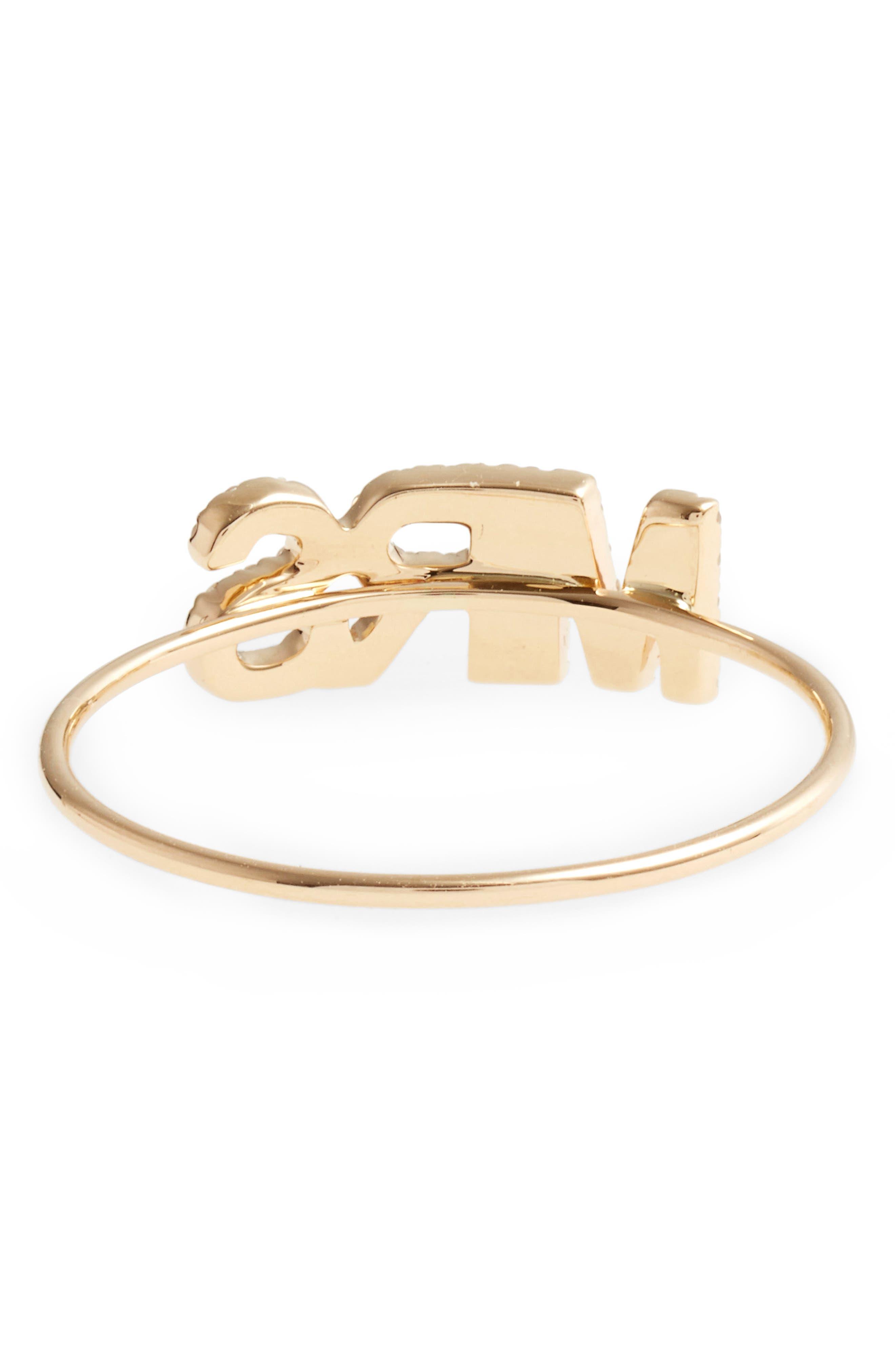 Mrs. Diamond Ring,                             Alternate thumbnail 4, color,                             YELLOW GOLD