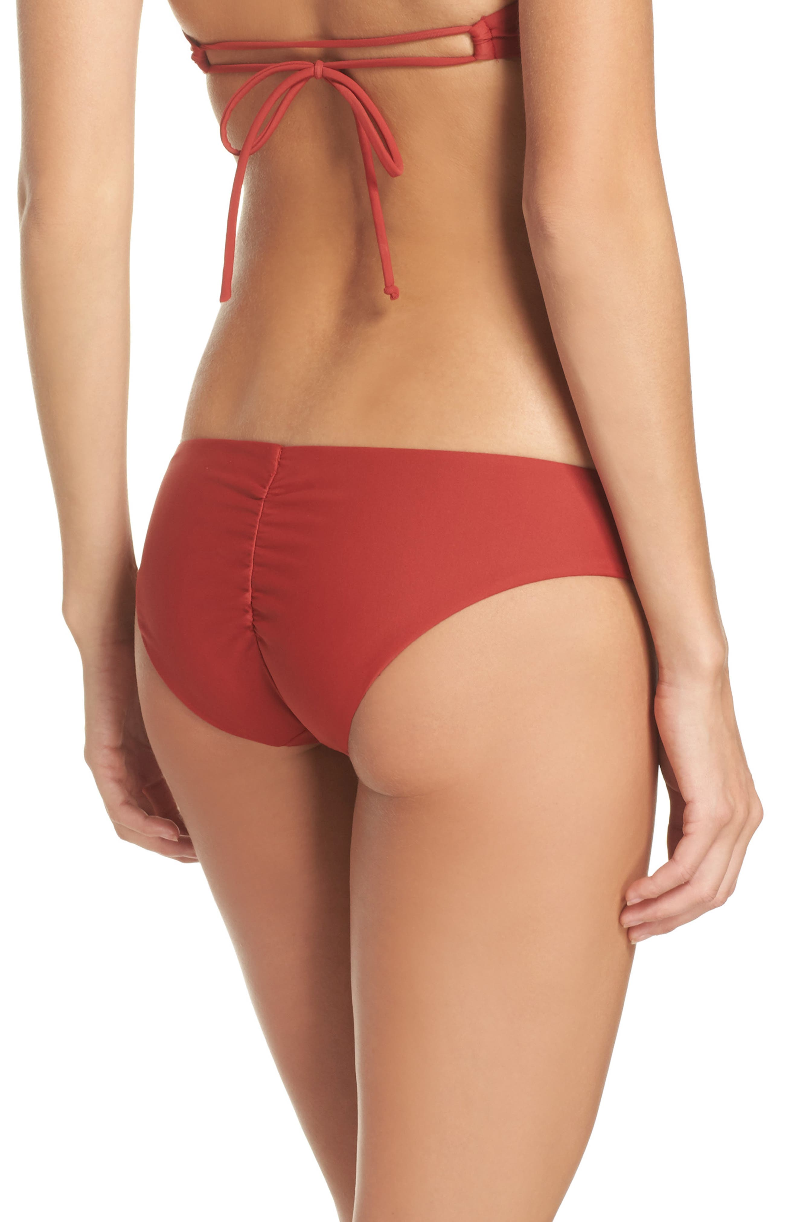 Cutout Hipster Bikini Bottoms,                             Alternate thumbnail 4, color,