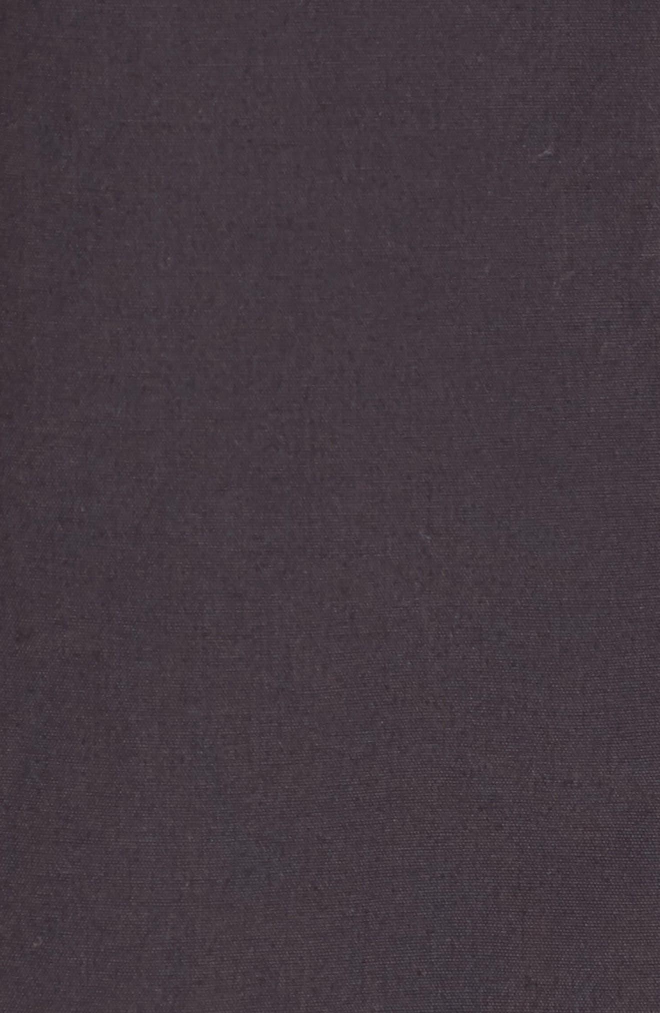 Waxed Canvas Utility Jacket,                             Alternate thumbnail 6, color,                             001