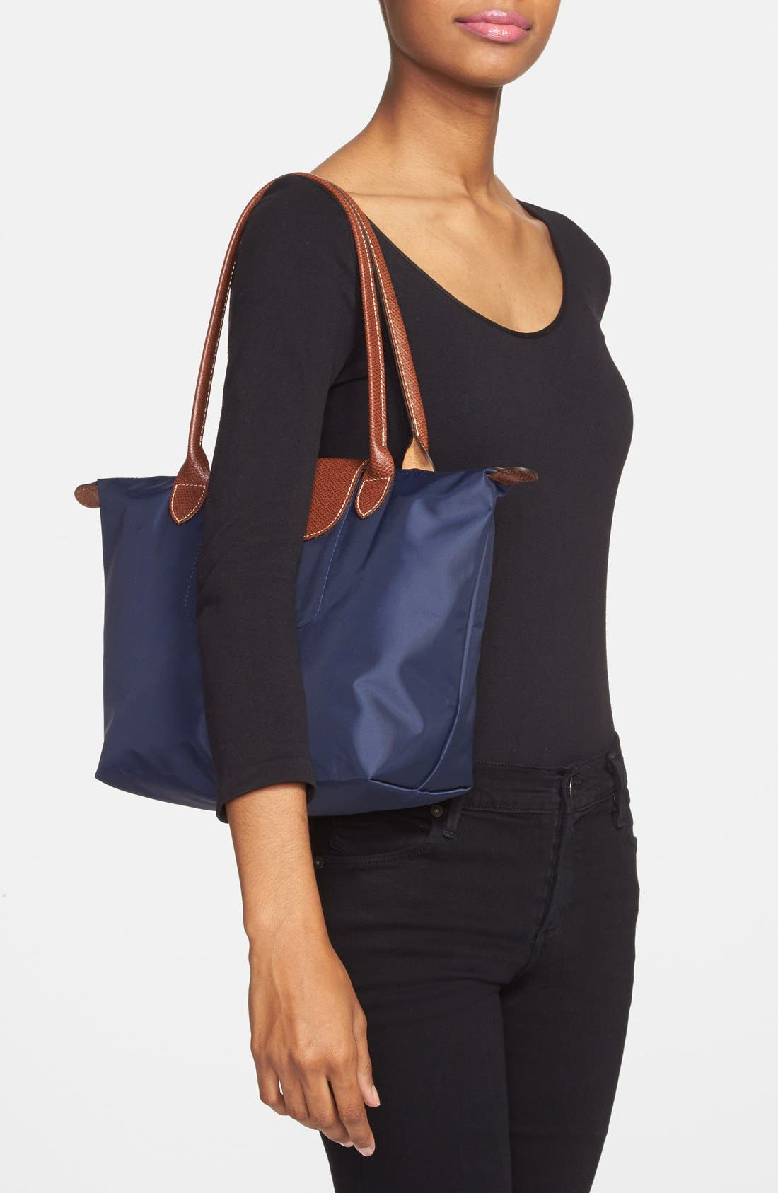 'Small Le Pliage' Tote,                             Alternate thumbnail 2, color,                             456