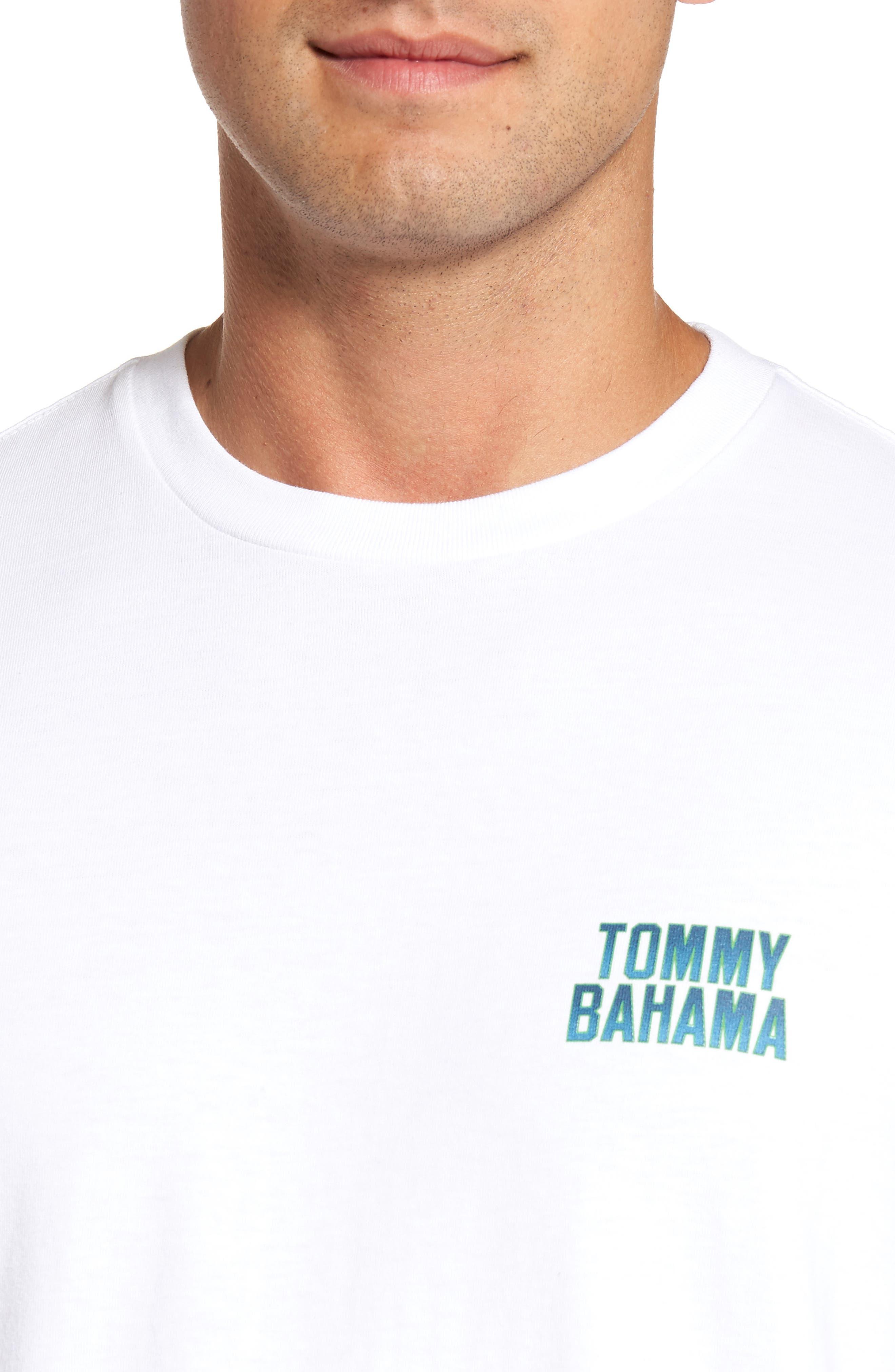 Gull Tending Standard Fit T-Shirt,                             Alternate thumbnail 4, color,                             100