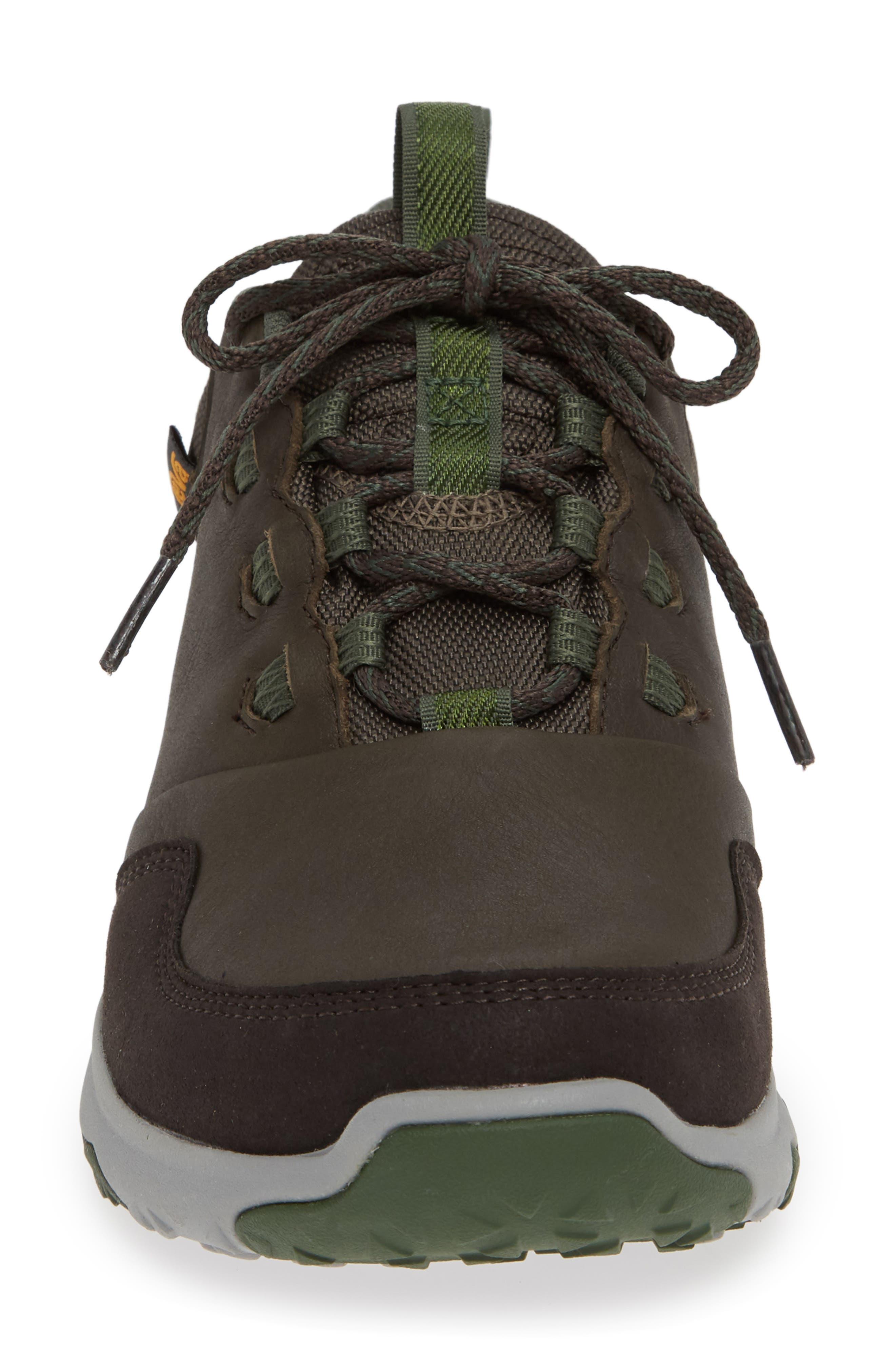 Arrowood Waterproof Sneaker,                             Alternate thumbnail 4, color,                             BLACK OLIVE LEATHER