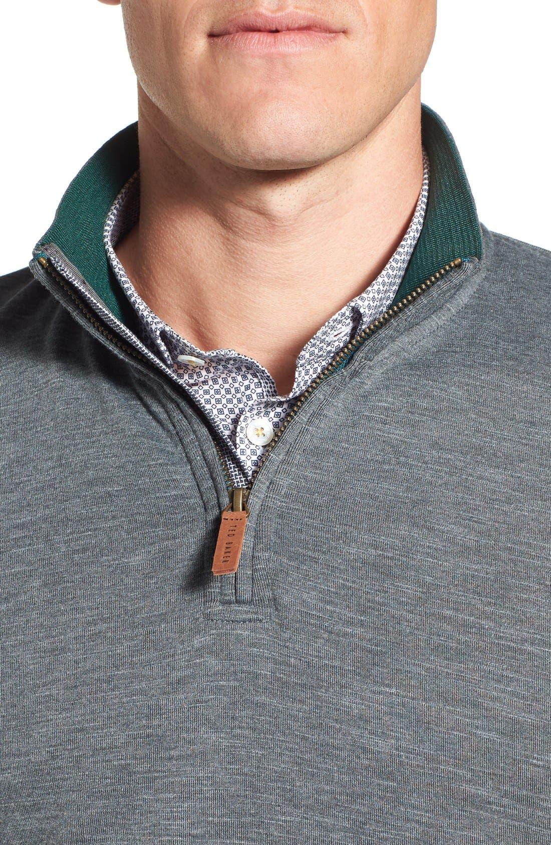 'Mandra' Quarter Zip Pullover,                             Alternate thumbnail 2, color,                             020