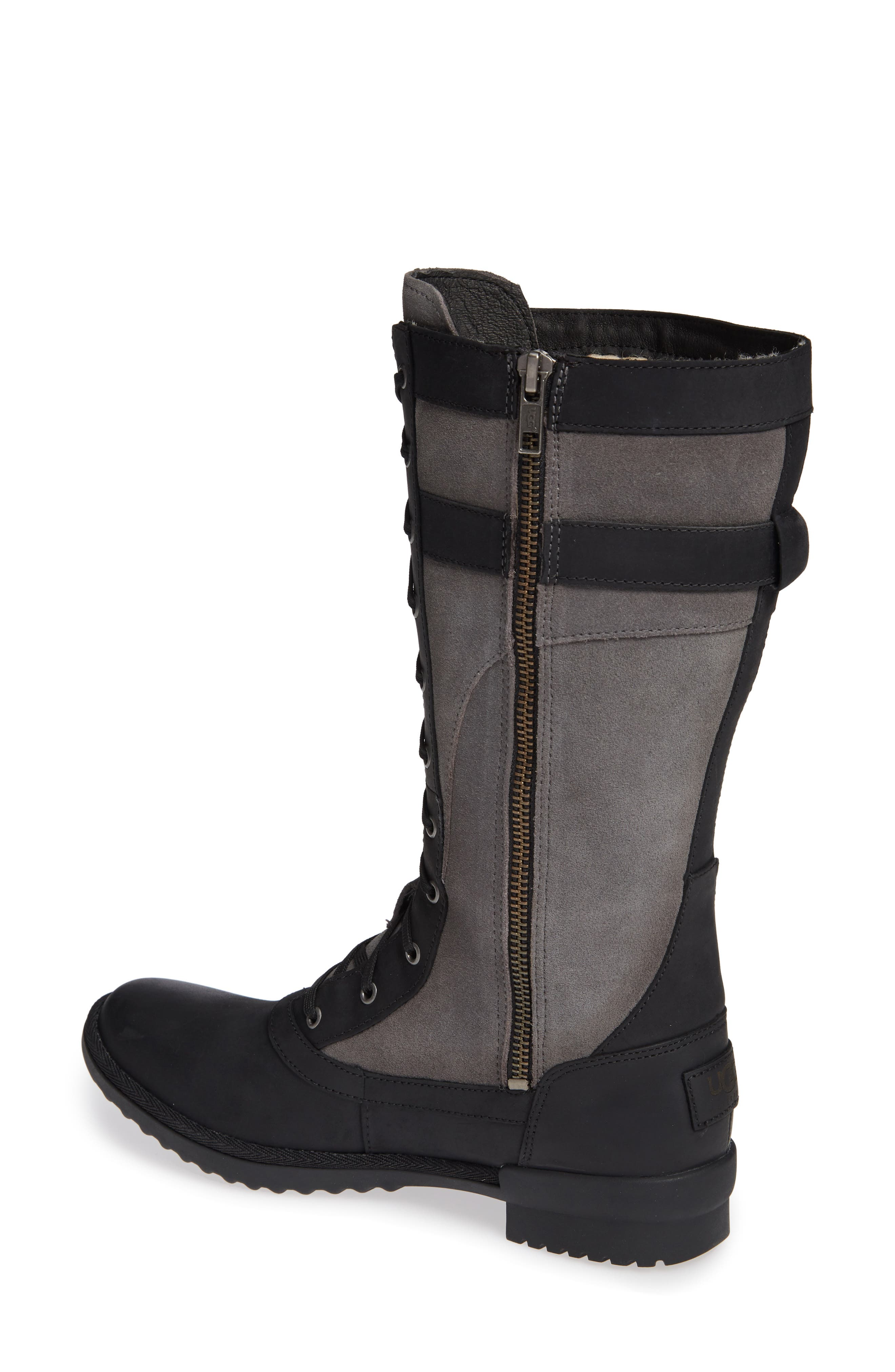 Brystl Waterproof Insulated Boot,                             Alternate thumbnail 2, color,                             BLACK