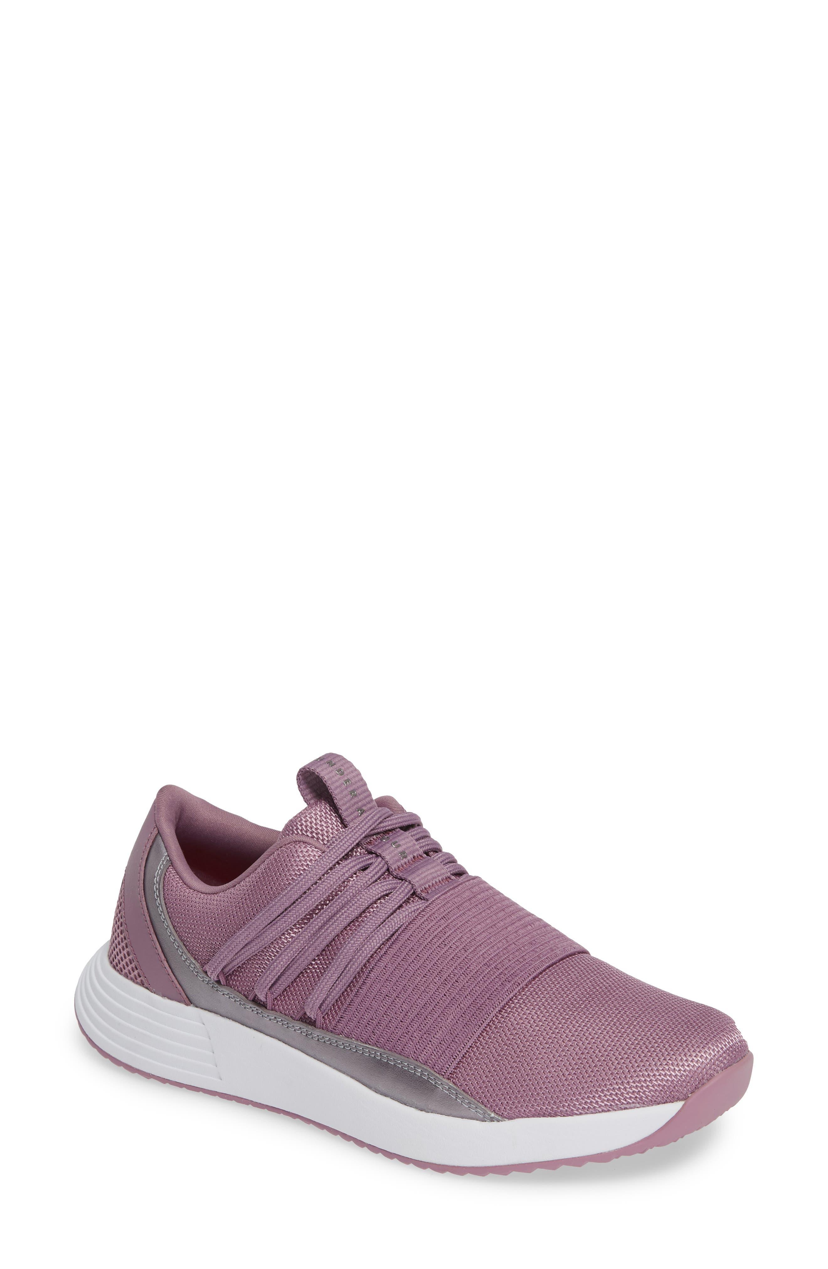 Breathe Lace X NM Sneaker,                             Main thumbnail 1, color,                             PURPLE PRIME/ WHITE/ WHITE