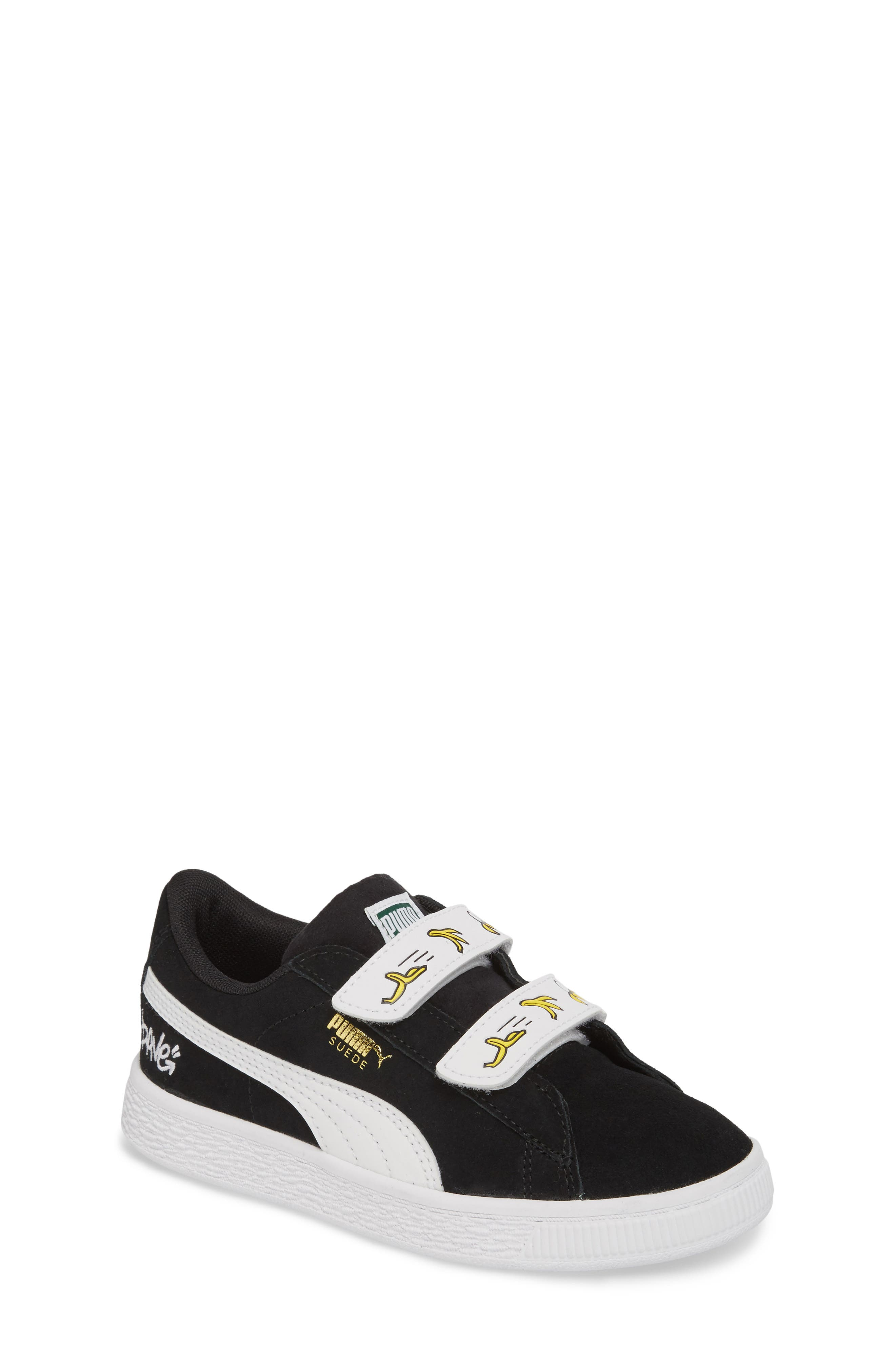 x Minions Suede V Sneaker,                         Main,                         color, 001
