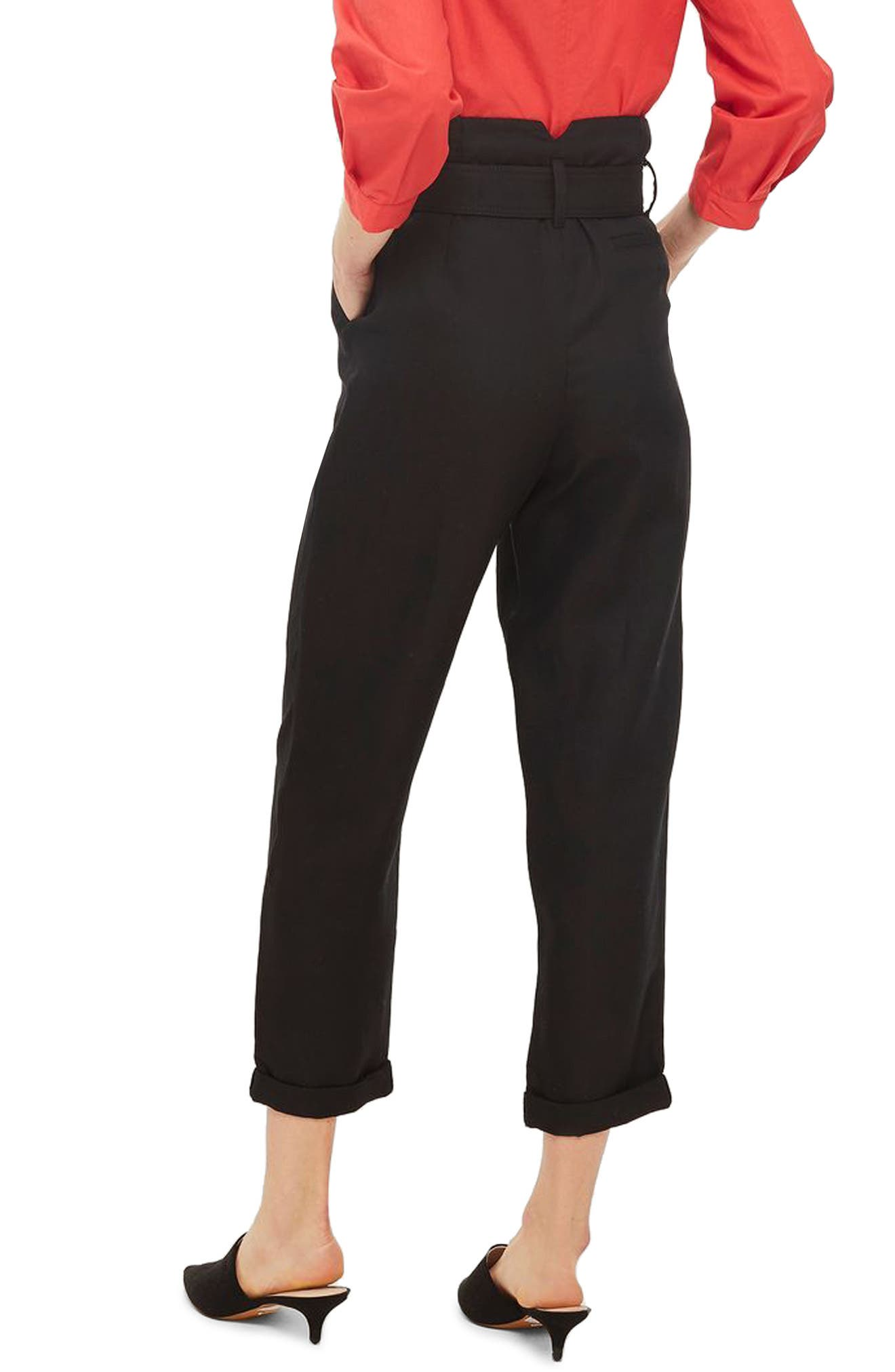 Mensy Belted Trousers,                             Alternate thumbnail 2, color,                             001