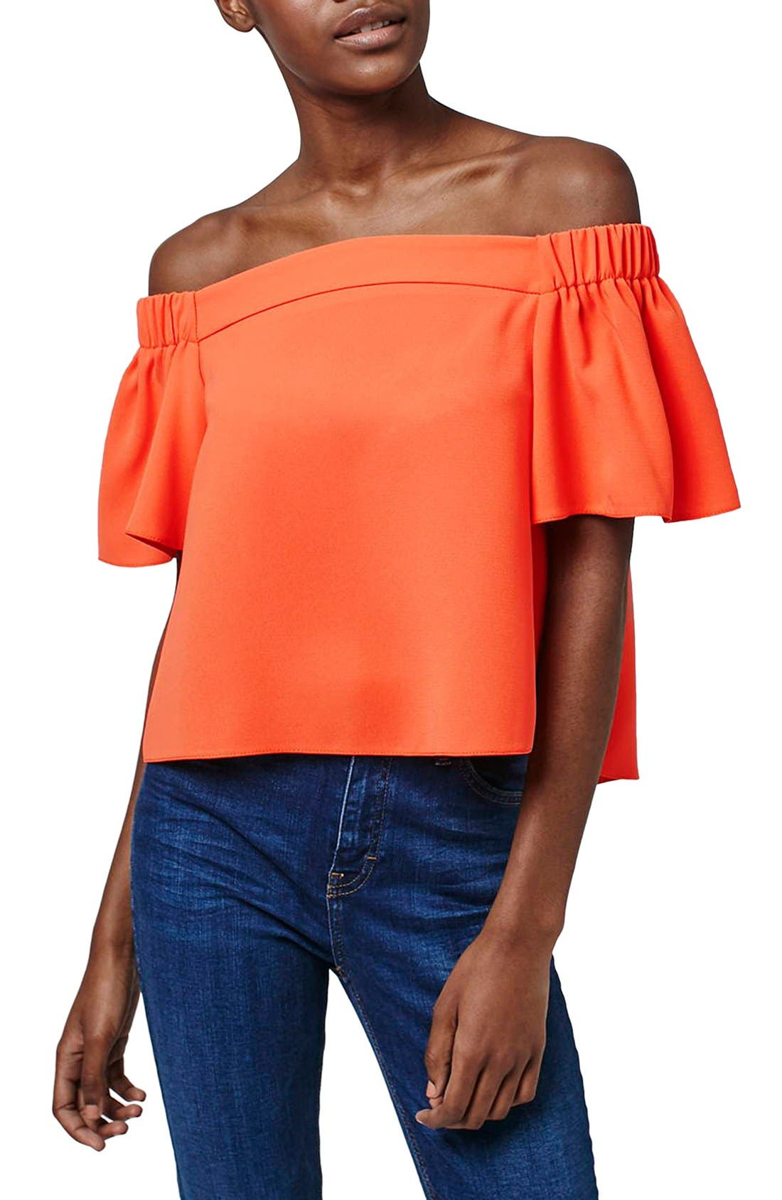 'Livi' Off the Shoulder Top,                             Main thumbnail 3, color,