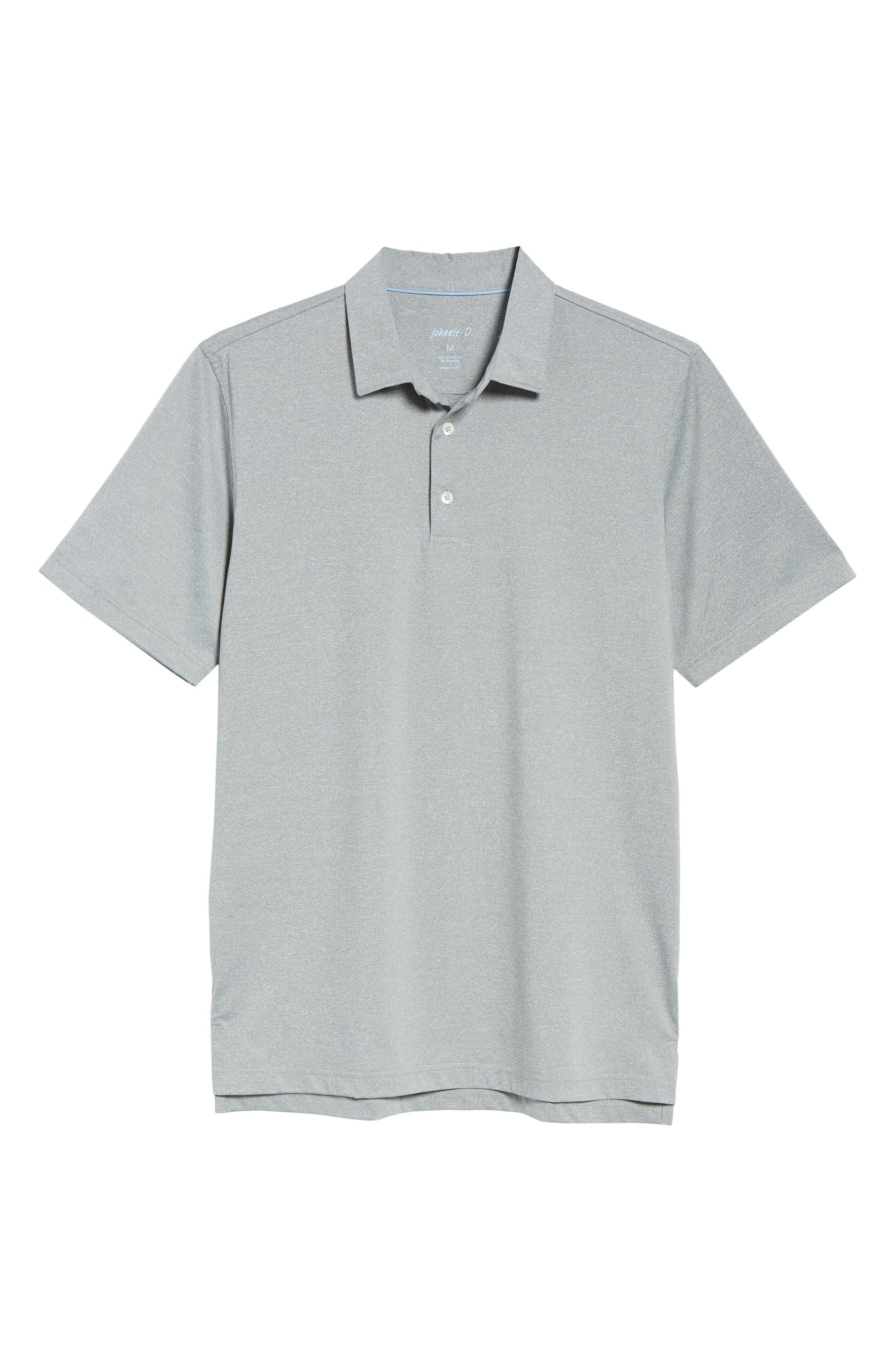 Birdie Classic Fit Performance Polo,                             Alternate thumbnail 6, color,                             METEOR