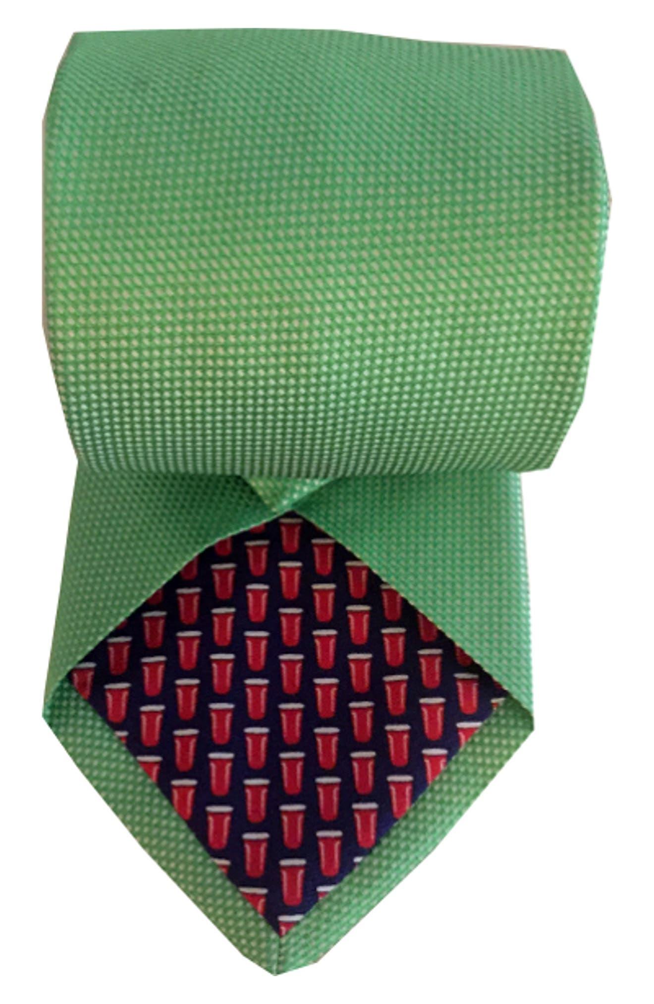 Mullet Silk Tie,                             Alternate thumbnail 2, color,                             310