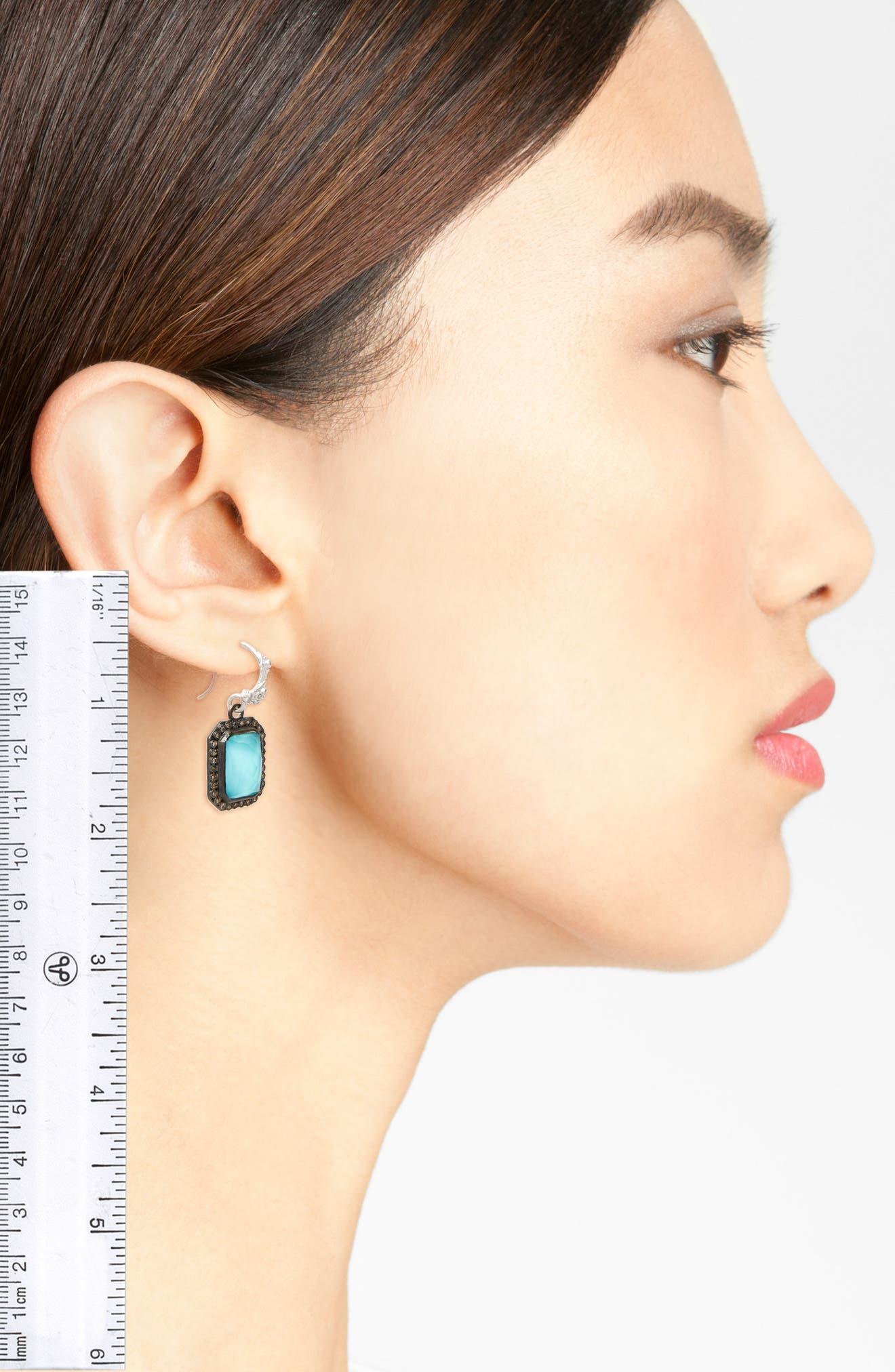 New World Drop Earrings,                             Alternate thumbnail 2, color,                             SILVER