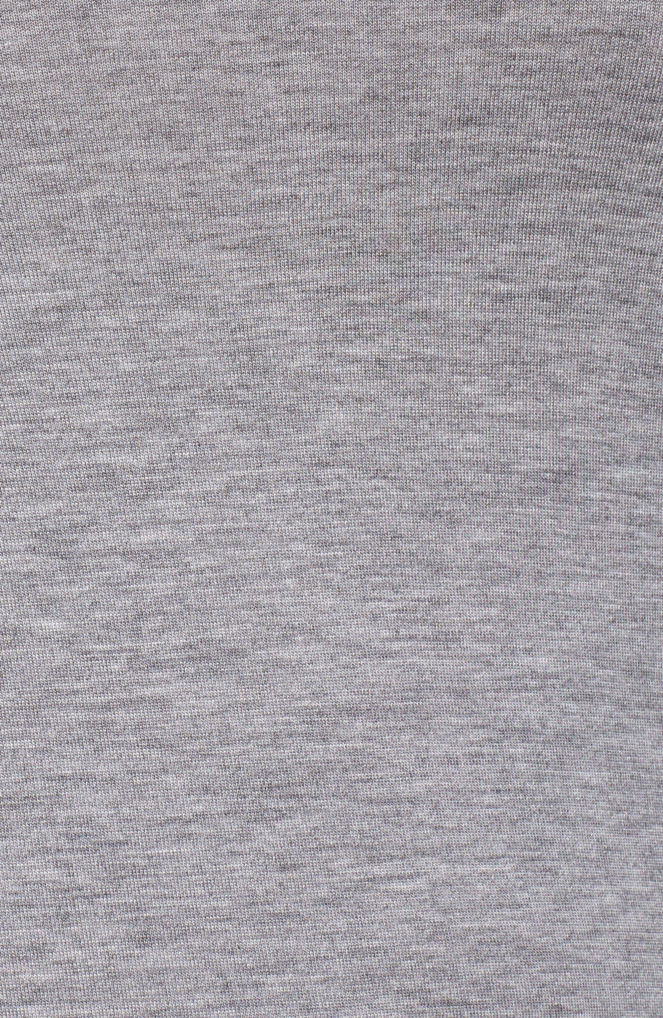 HONEYDEW INTIMATES,                             All American Shortie Pajamas,                             Alternate thumbnail 5, color,                             HEATHER GREY