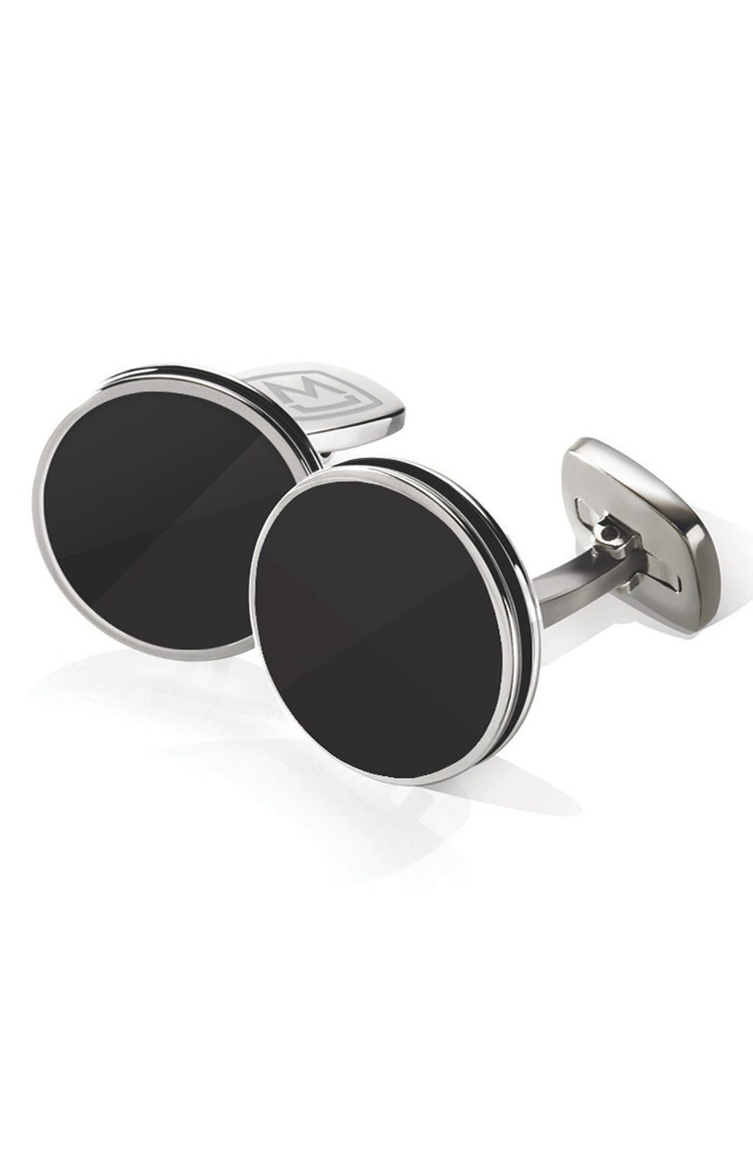 Stainless Steel Cuff Links,                             Main thumbnail 2, color,