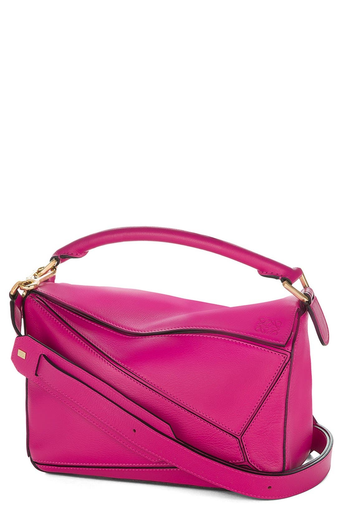 'Small Puzzle' Calfskin Leather Bag,                             Main thumbnail 9, color,