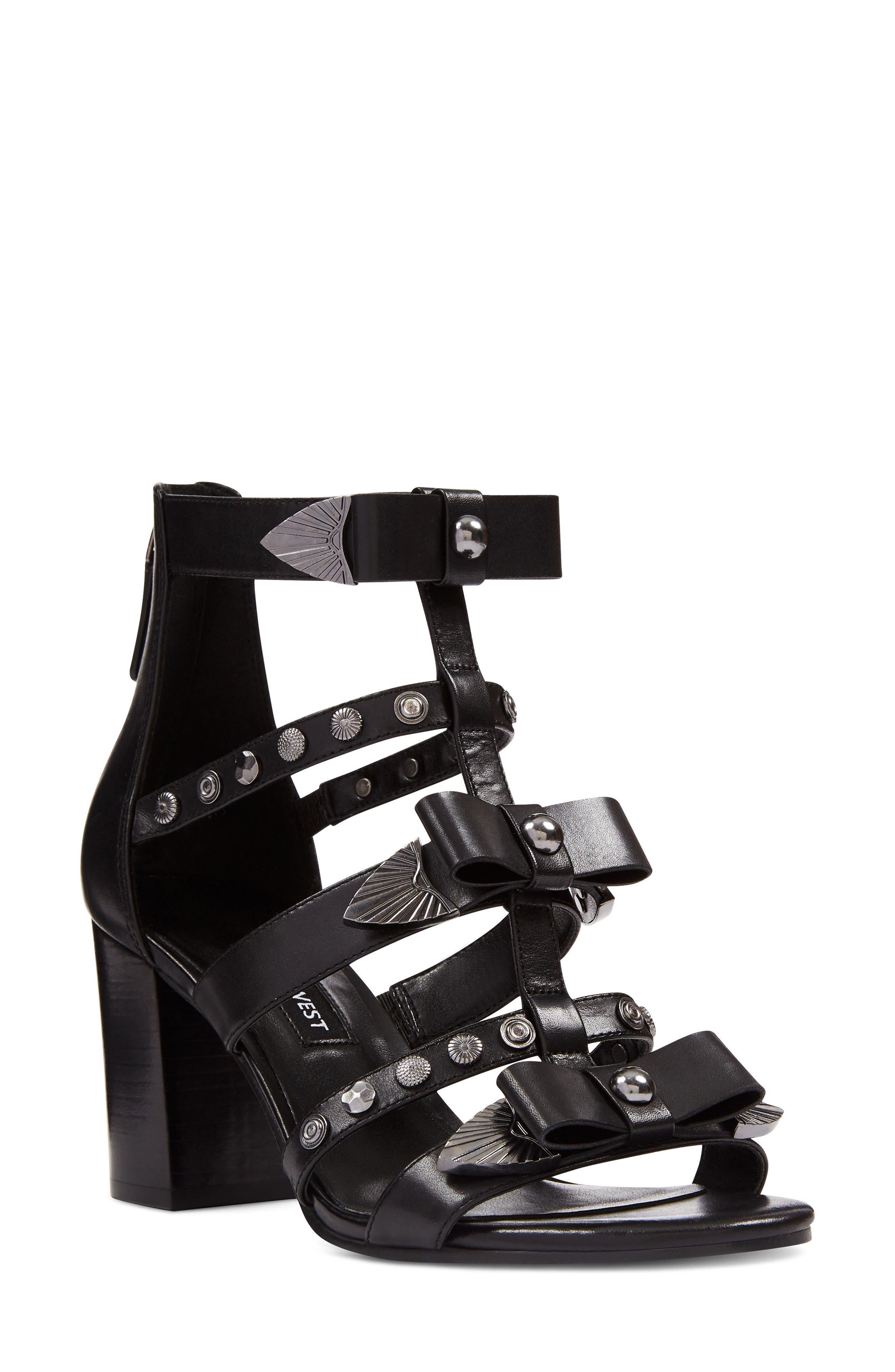 Giovanna Studded Sandal,                         Main,                         color, 001