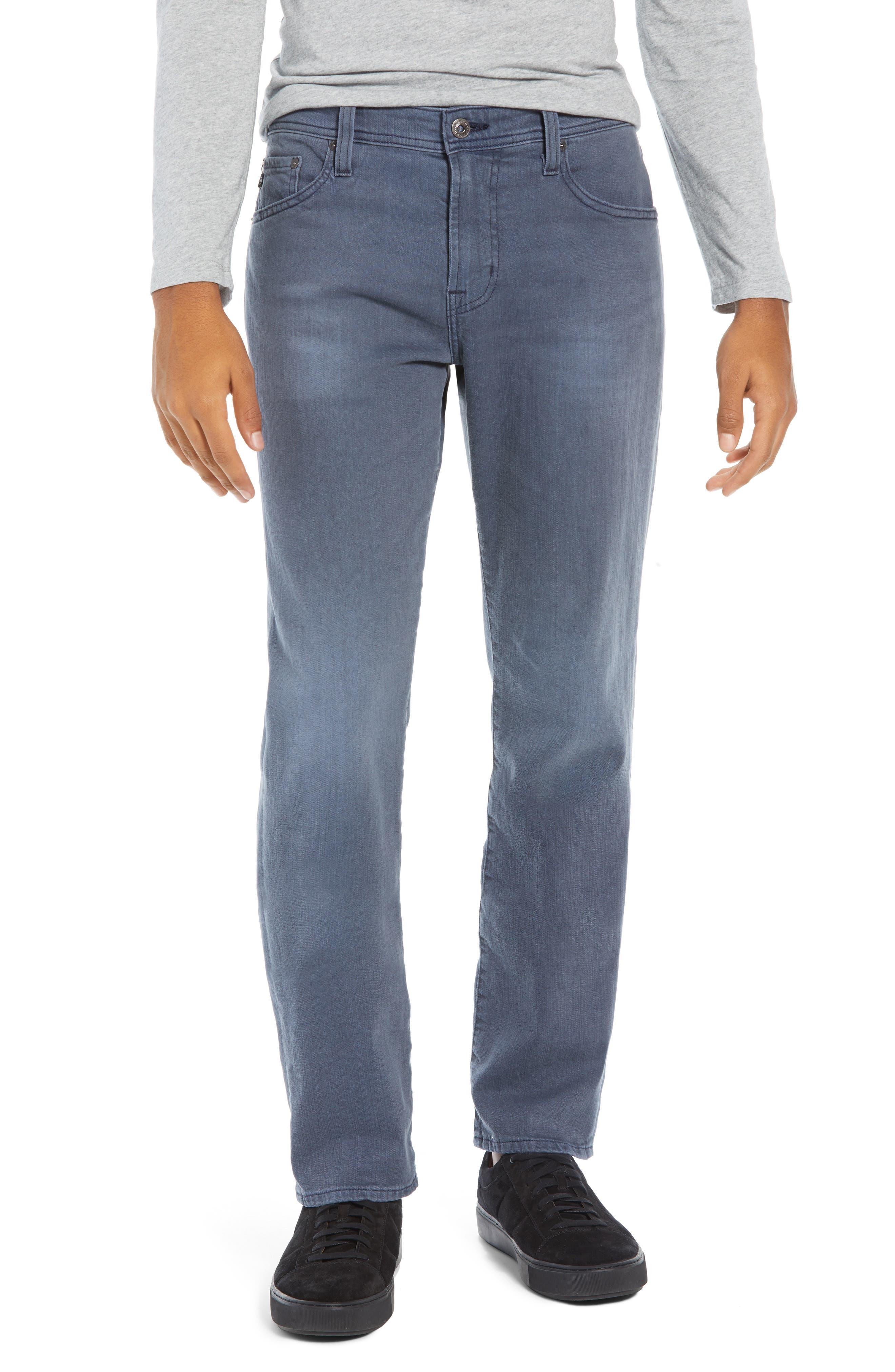 Graduate Slim Straight Leg Jeans,                         Main,                         color, FLUXING TIDES