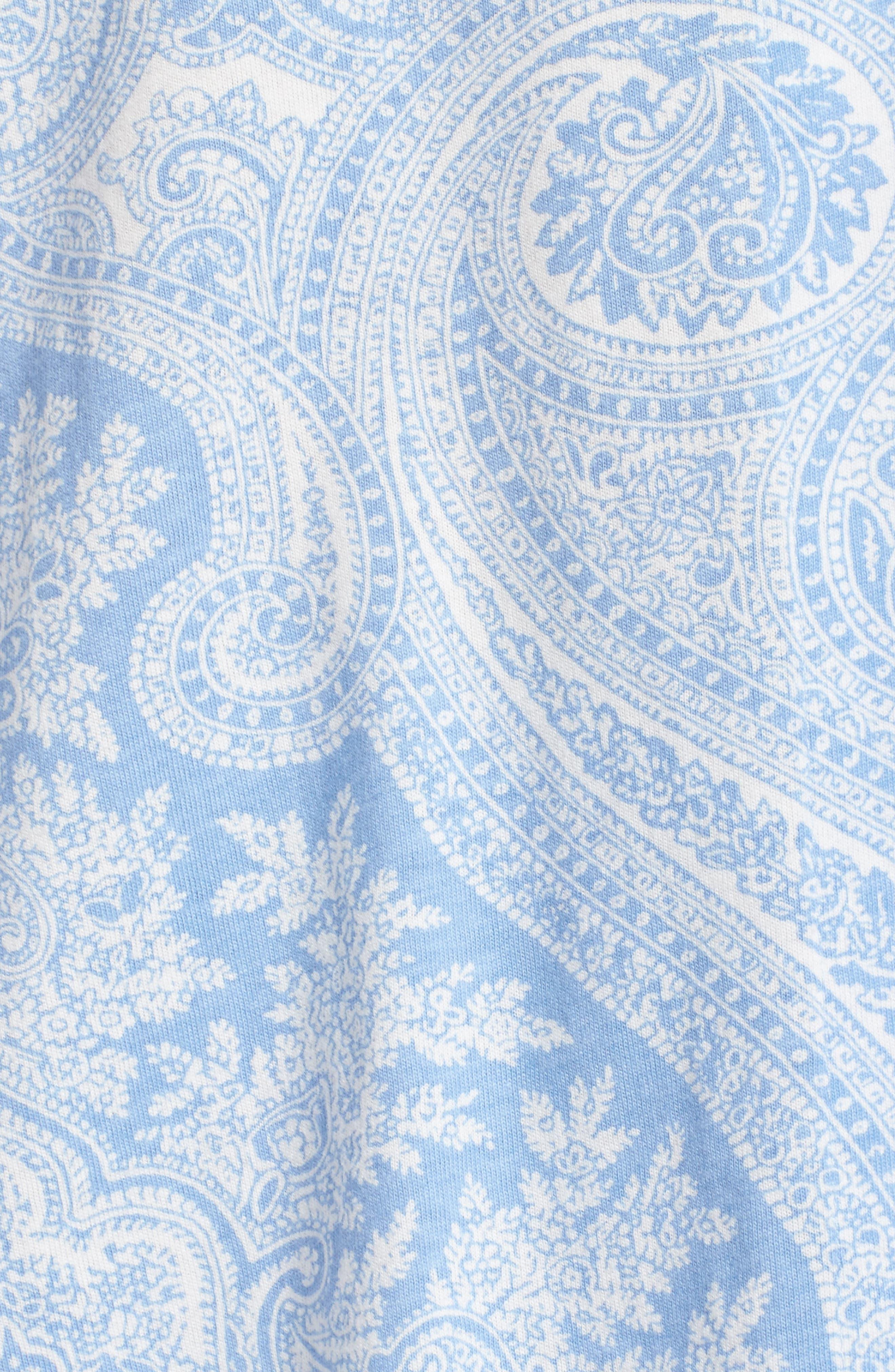 Knit Crop Pajamas,                             Alternate thumbnail 27, color,