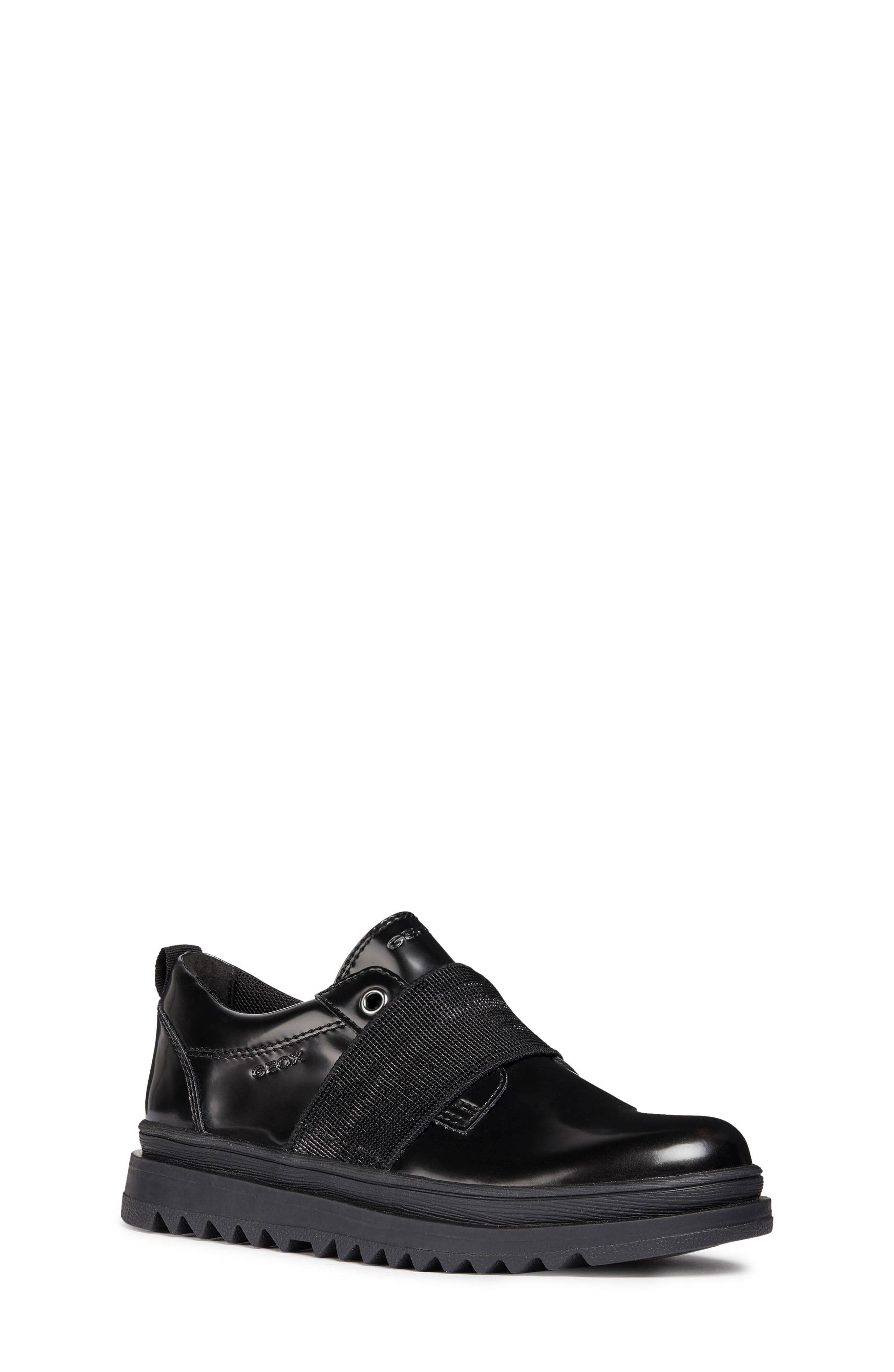 Gilly Jaw Sneaker,                         Main,                         color, BLACK
