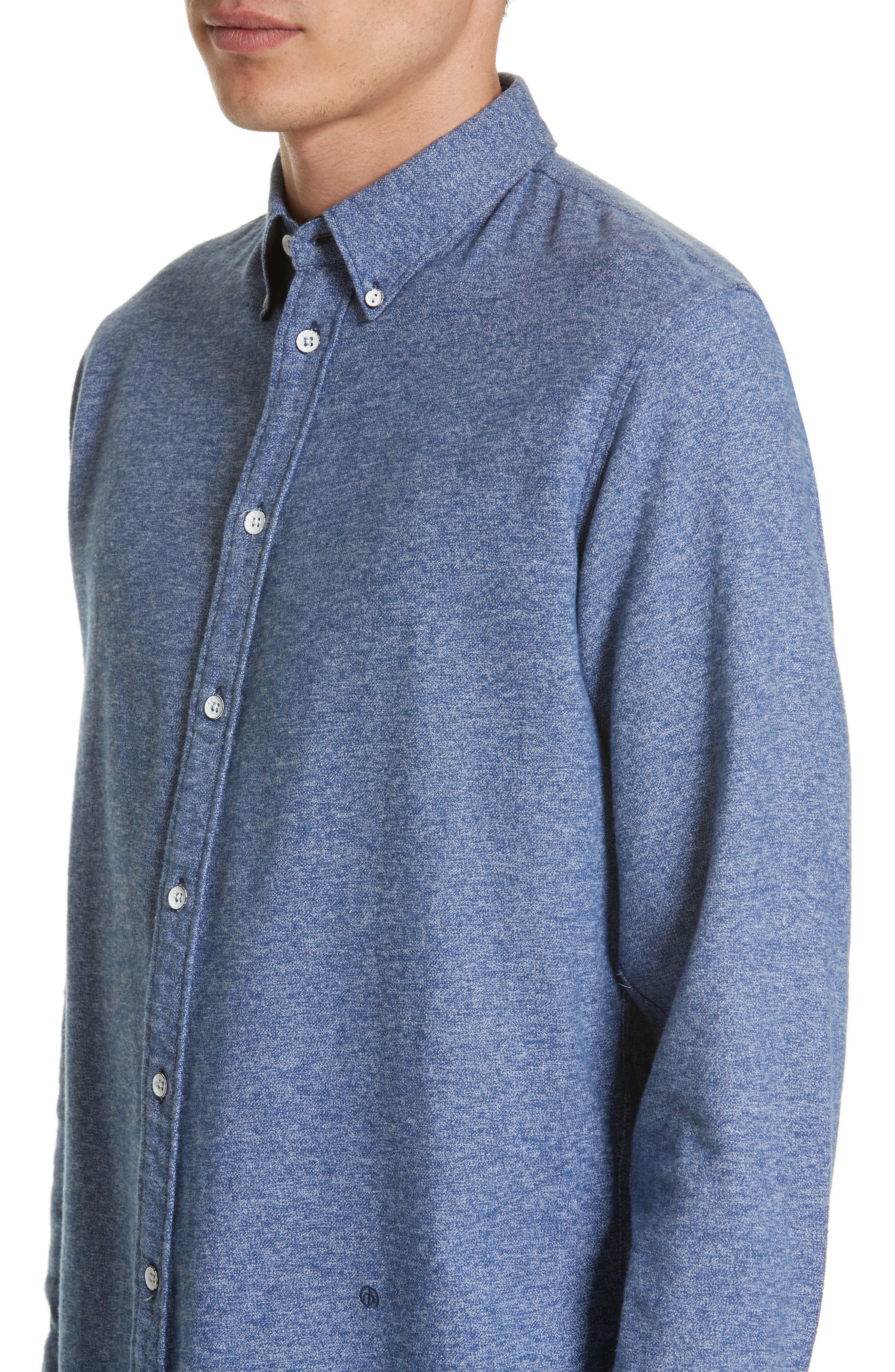 Fit 2 Base Woven Shirt,                             Alternate thumbnail 5, color,                             400