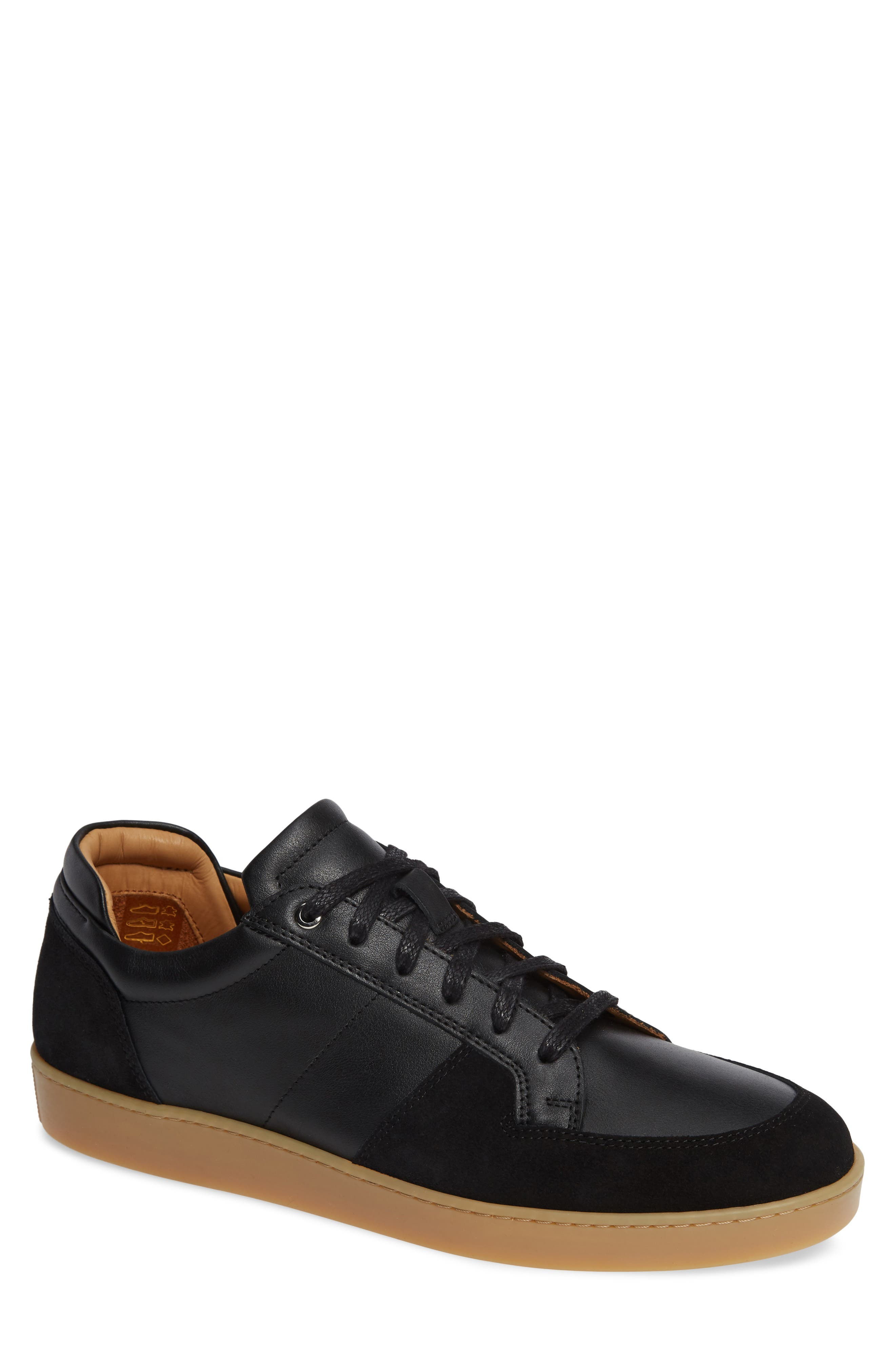 WANT LES ESSENTIELS DE LA VIE Wants Les Essentiels Lydd Sneaker in Black/ Black Suede