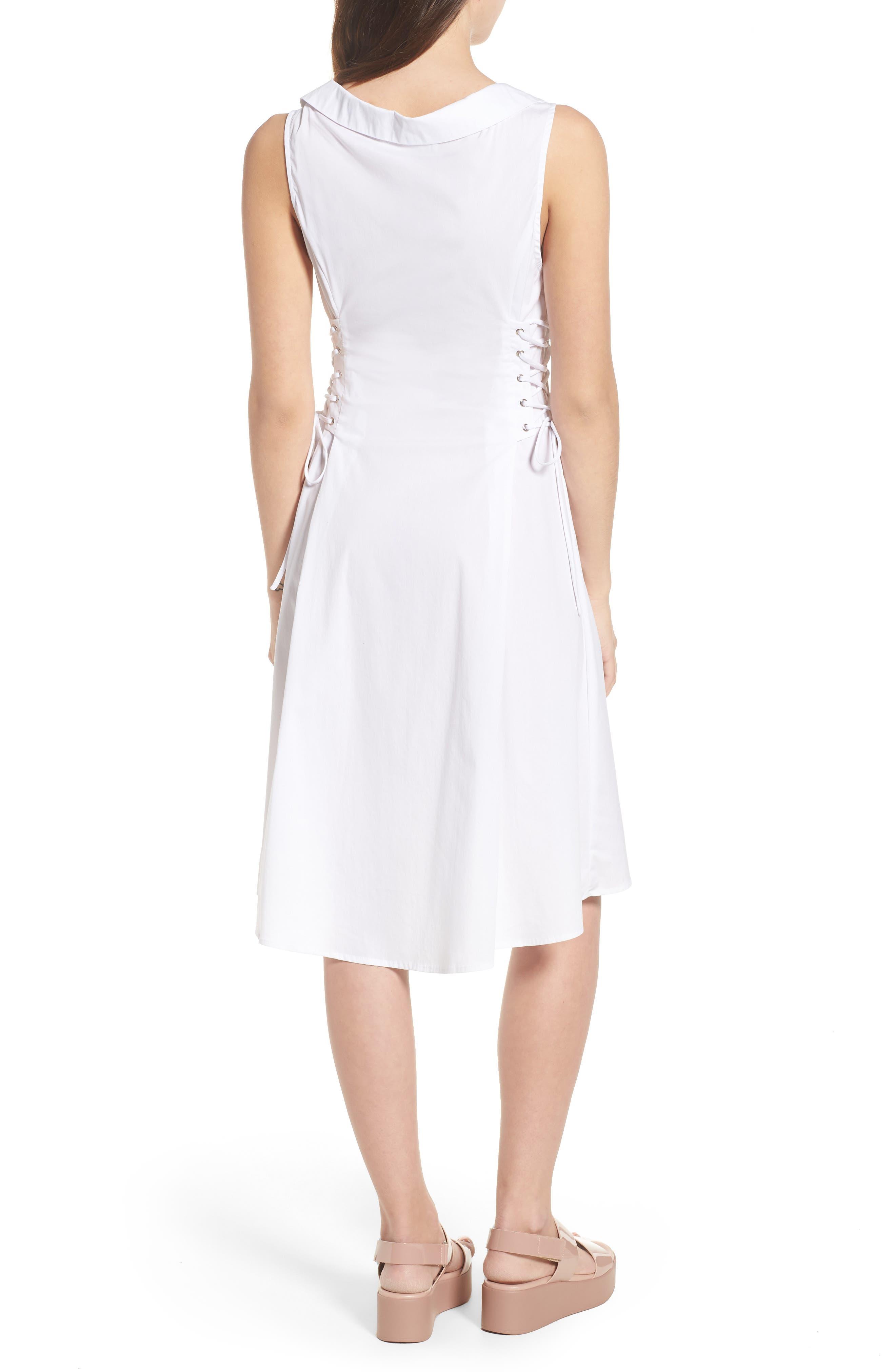 Sydney Lace Side Dress,                             Alternate thumbnail 2, color,