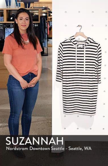 Striped Hoodie Dress, sales video thumbnail