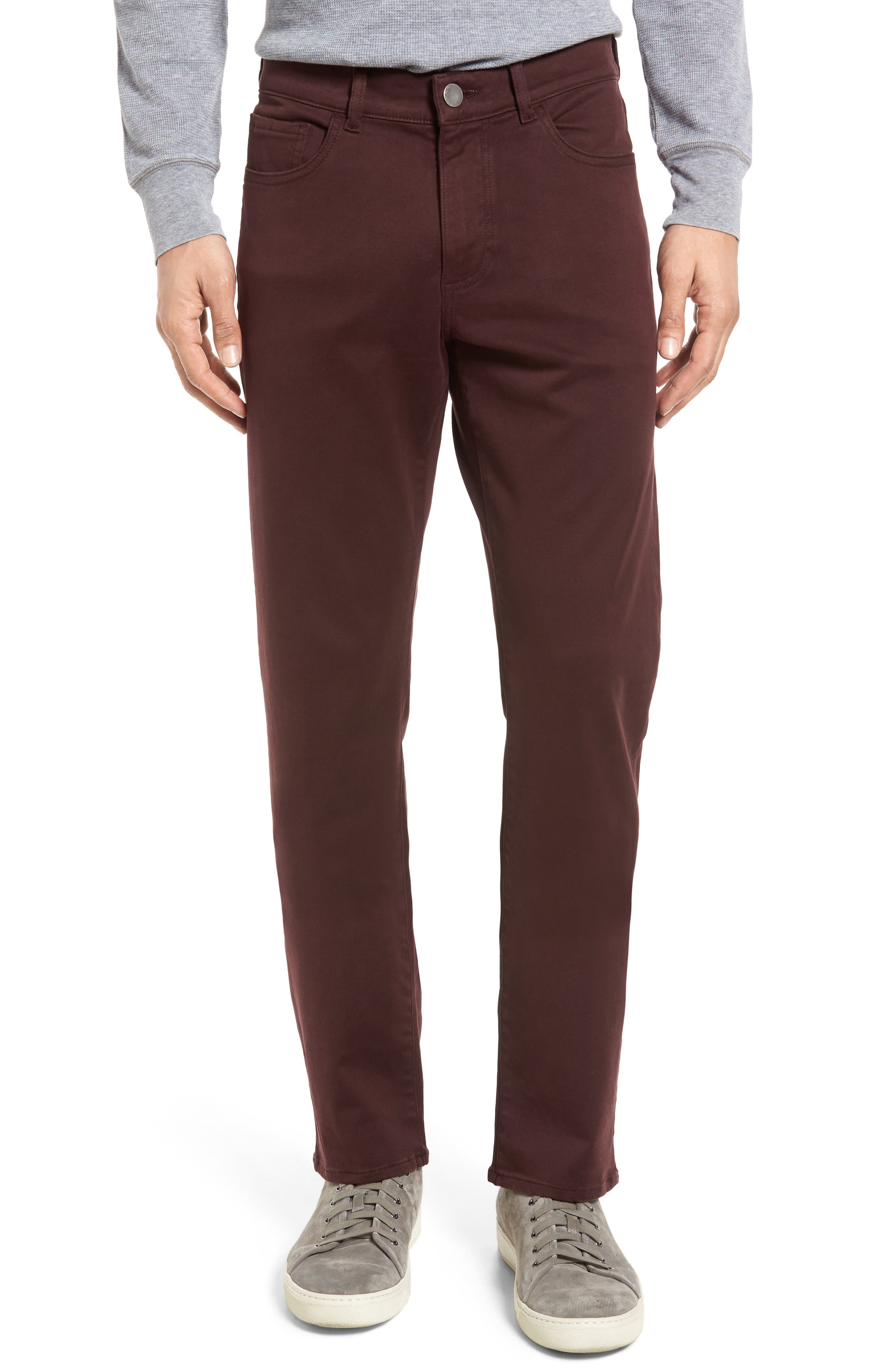 Russell Slim Fit Sateen Twill Pants,                             Main thumbnail 10, color,