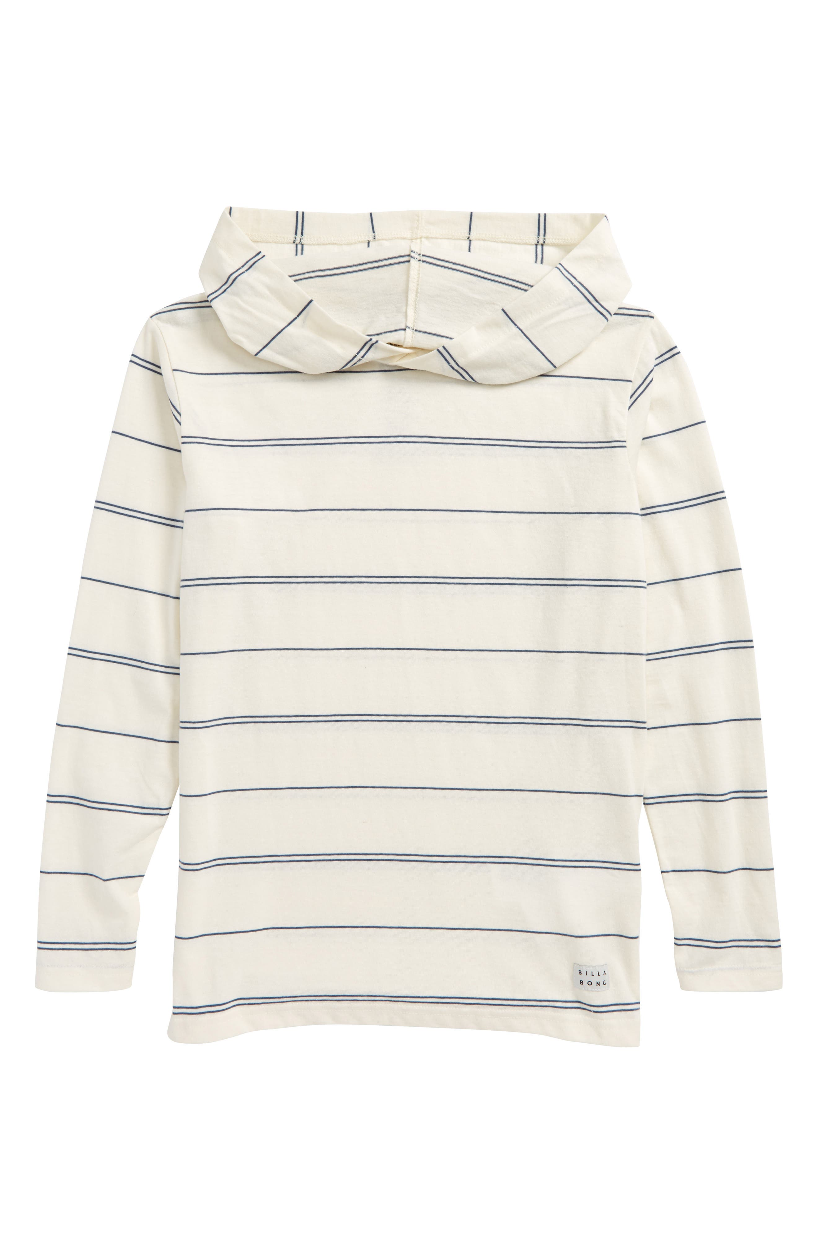 Die Cut Stripe Hooded Pullover,                             Main thumbnail 1, color,                             050