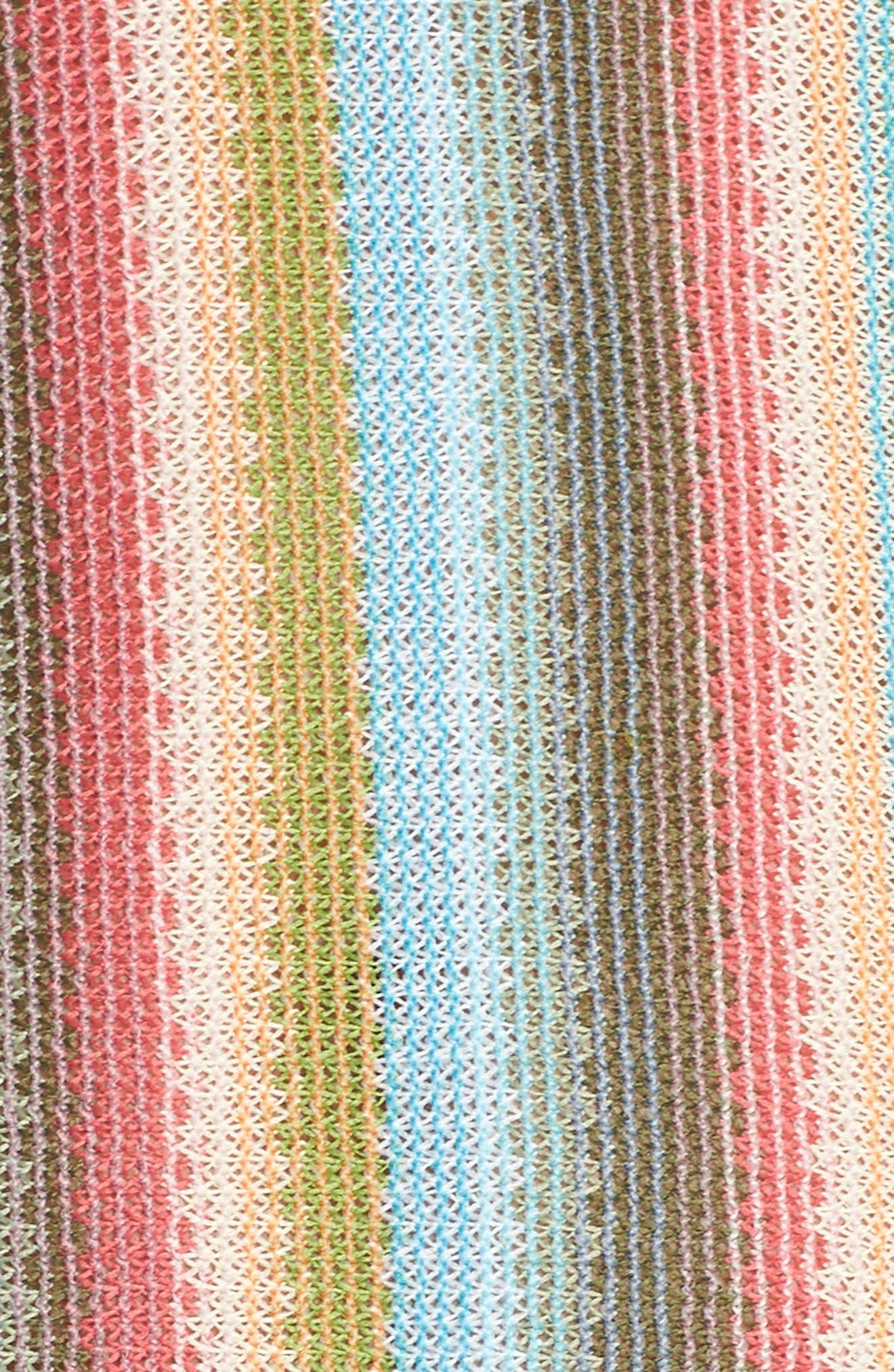 Seville Stripe Cover-Up Dress,                             Alternate thumbnail 5, color,                             800