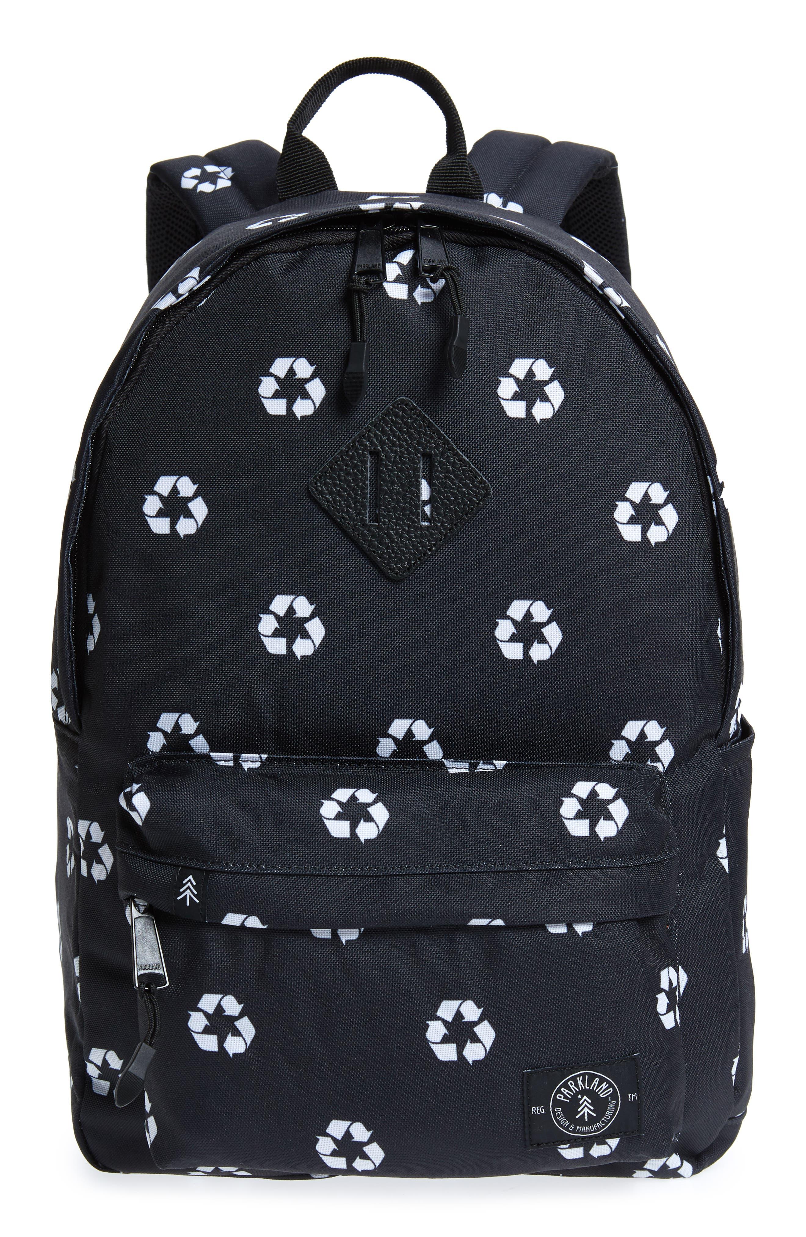 Bayside Backpack,                         Main,                         color, BLACK
