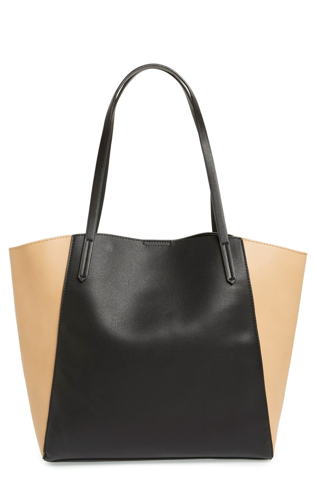 EMPERIA Panel Winged Tote, Main, color, 007