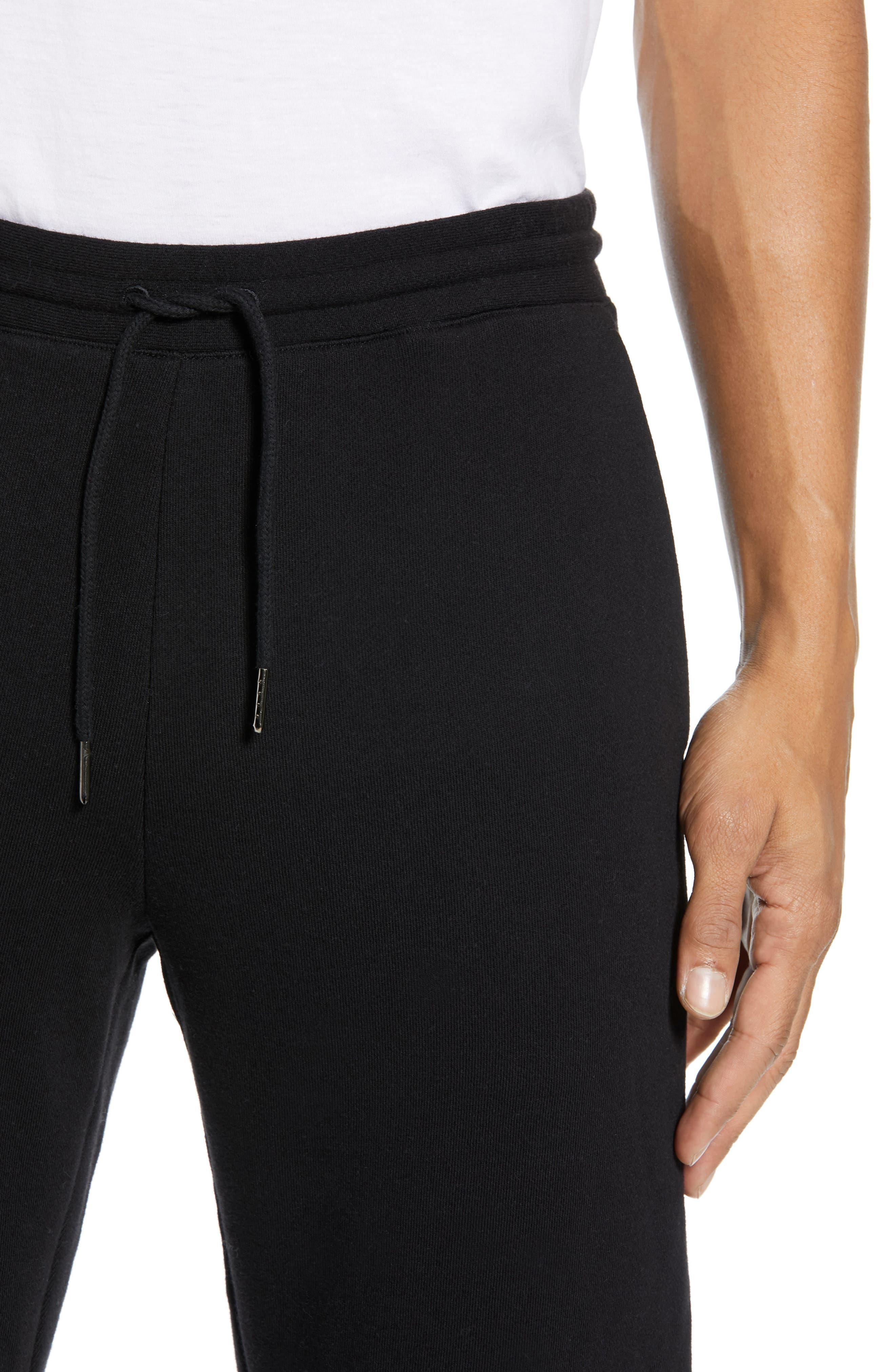 CLUB MONACO,                             Articulated Seam Jogger Pants,                             Alternate thumbnail 4, color,                             001