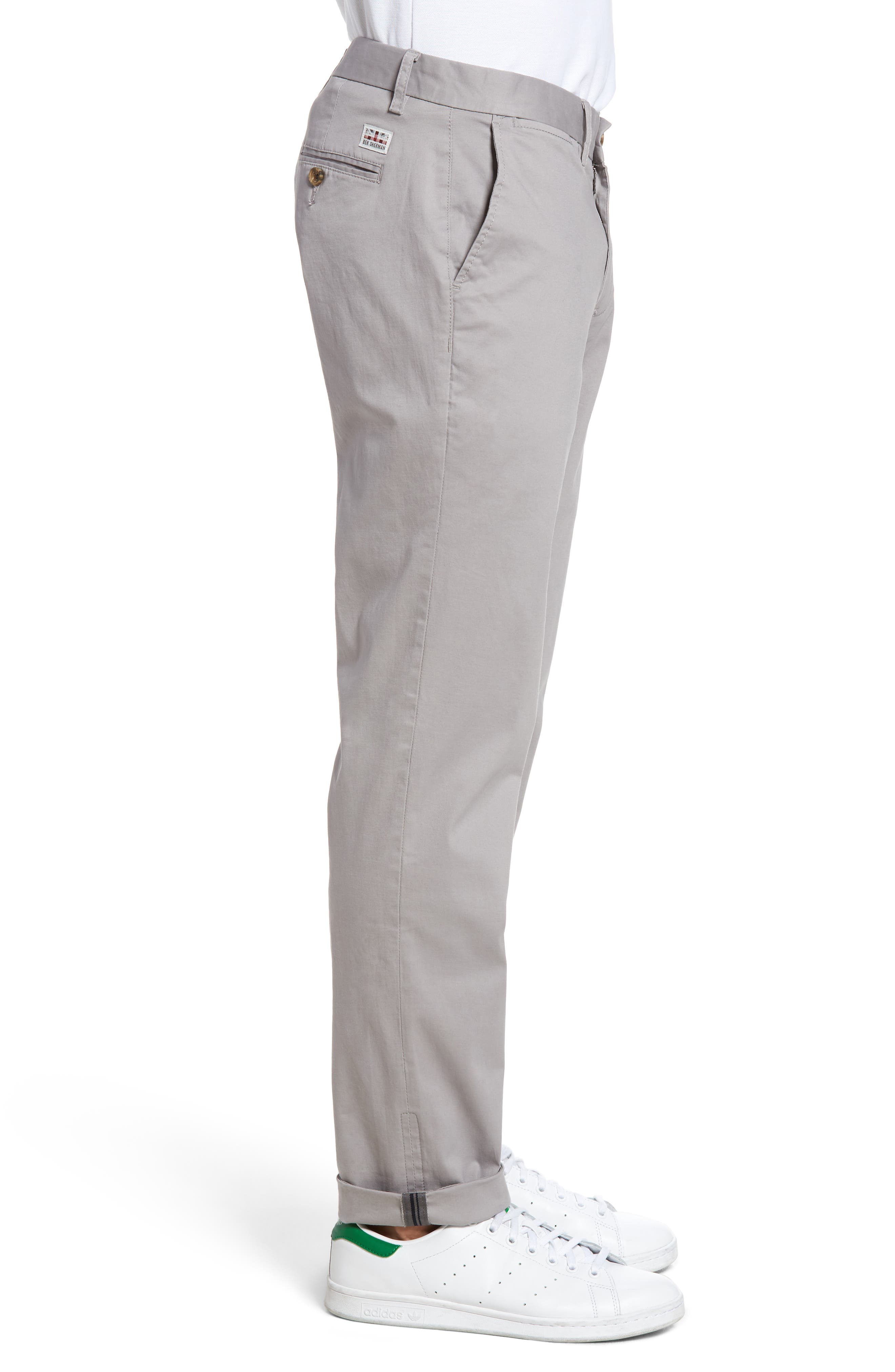 Slim Fit Stretch Chinos,                             Alternate thumbnail 29, color,