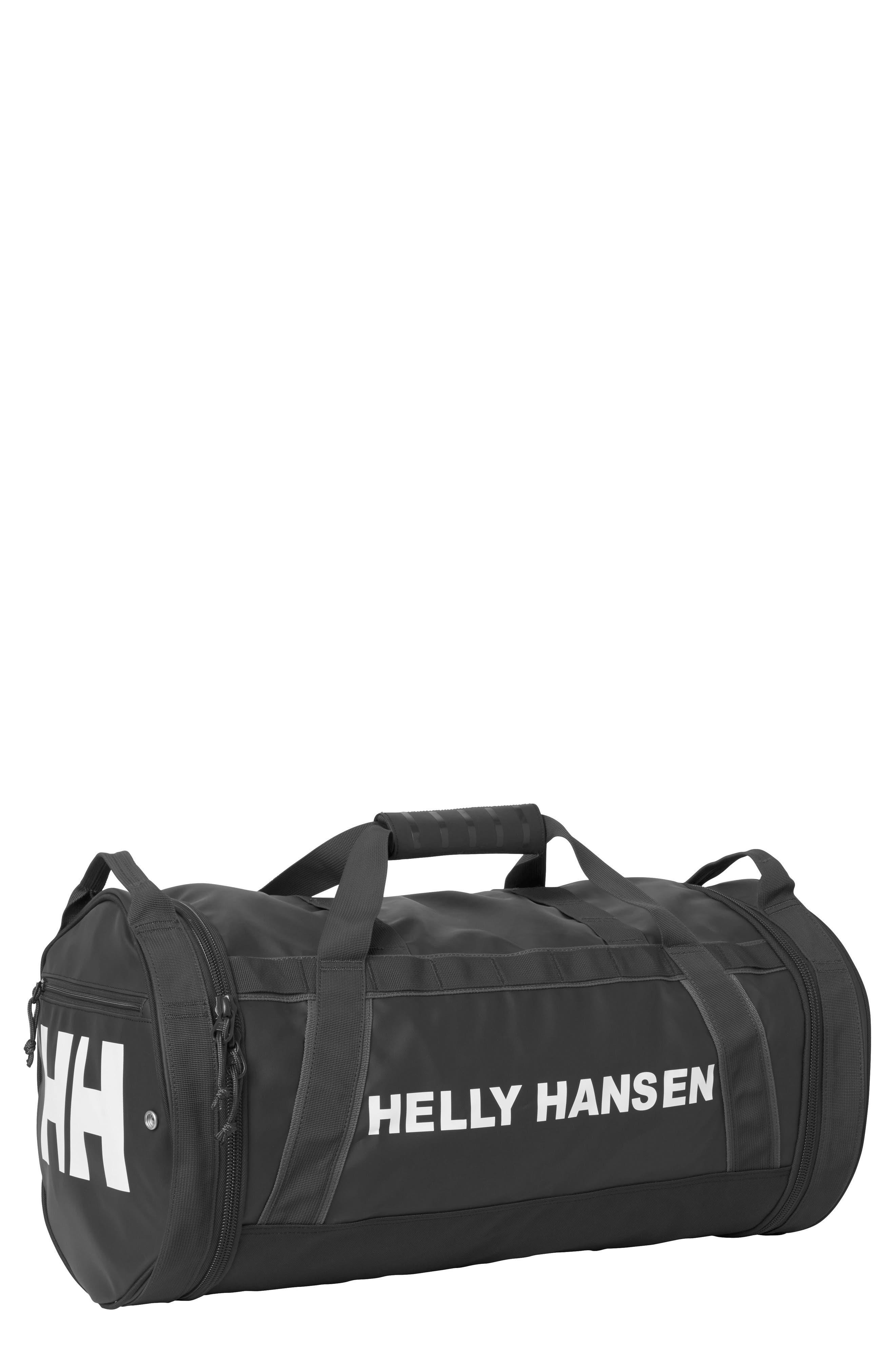 HELLY HANSEN,                             Hellypack Duffel Bag,                             Main thumbnail 1, color,                             BLACK